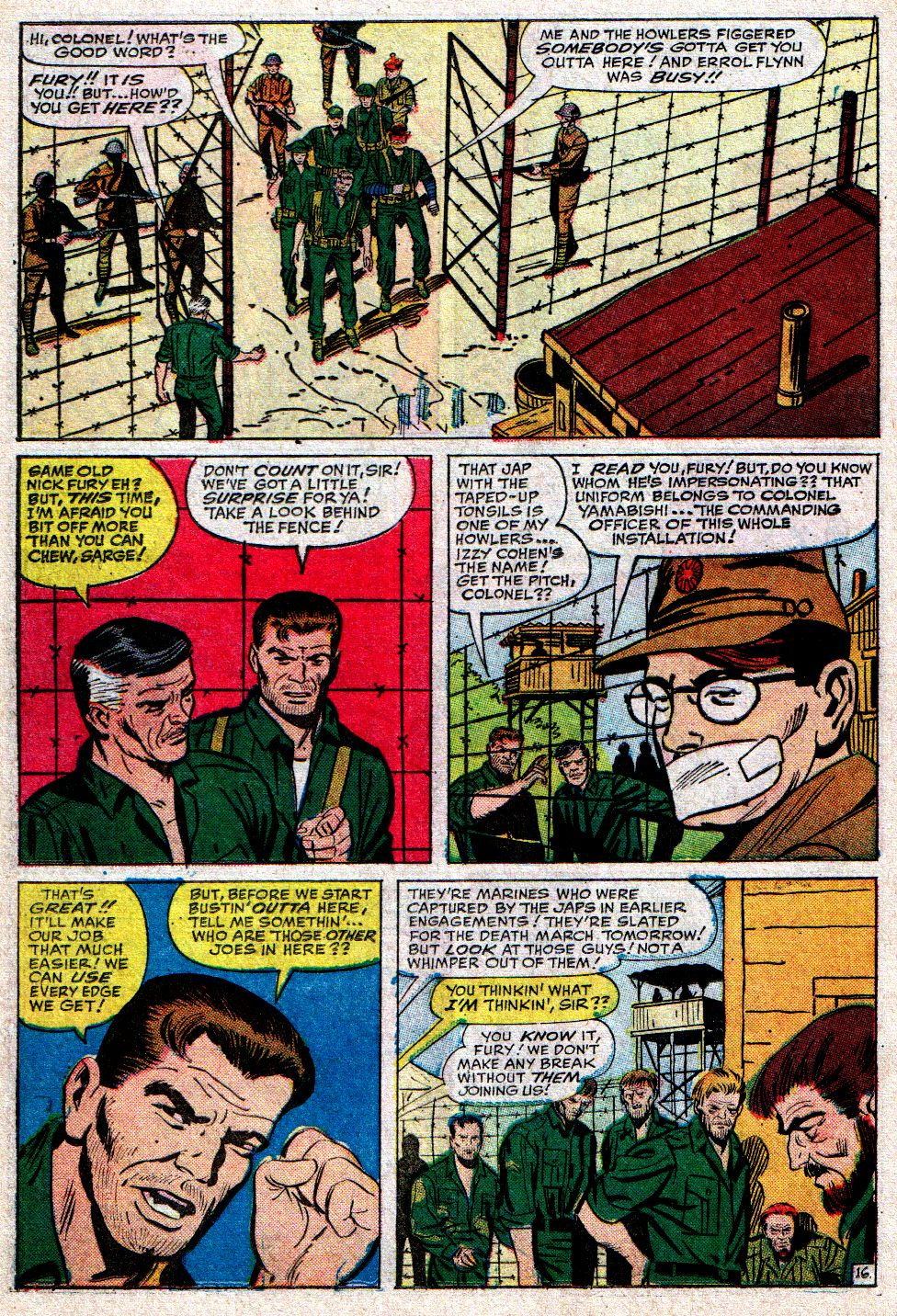 Read online Sgt. Fury comic -  Issue #10 - 22