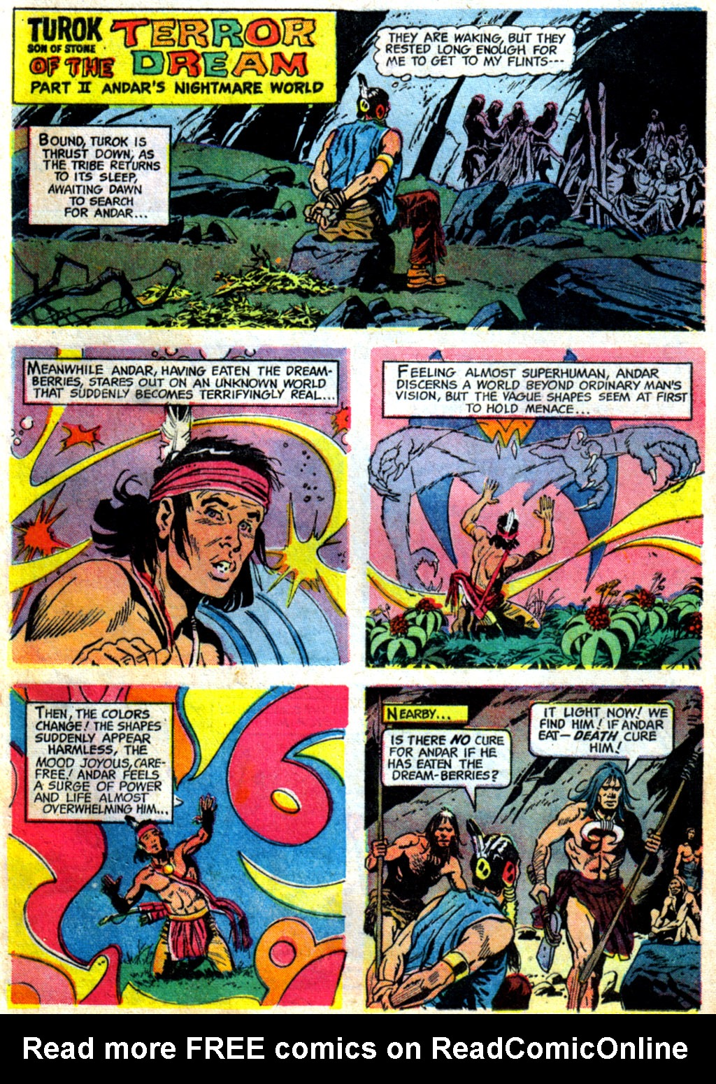 Read online Turok, Son of Stone comic -  Issue #62 - 21