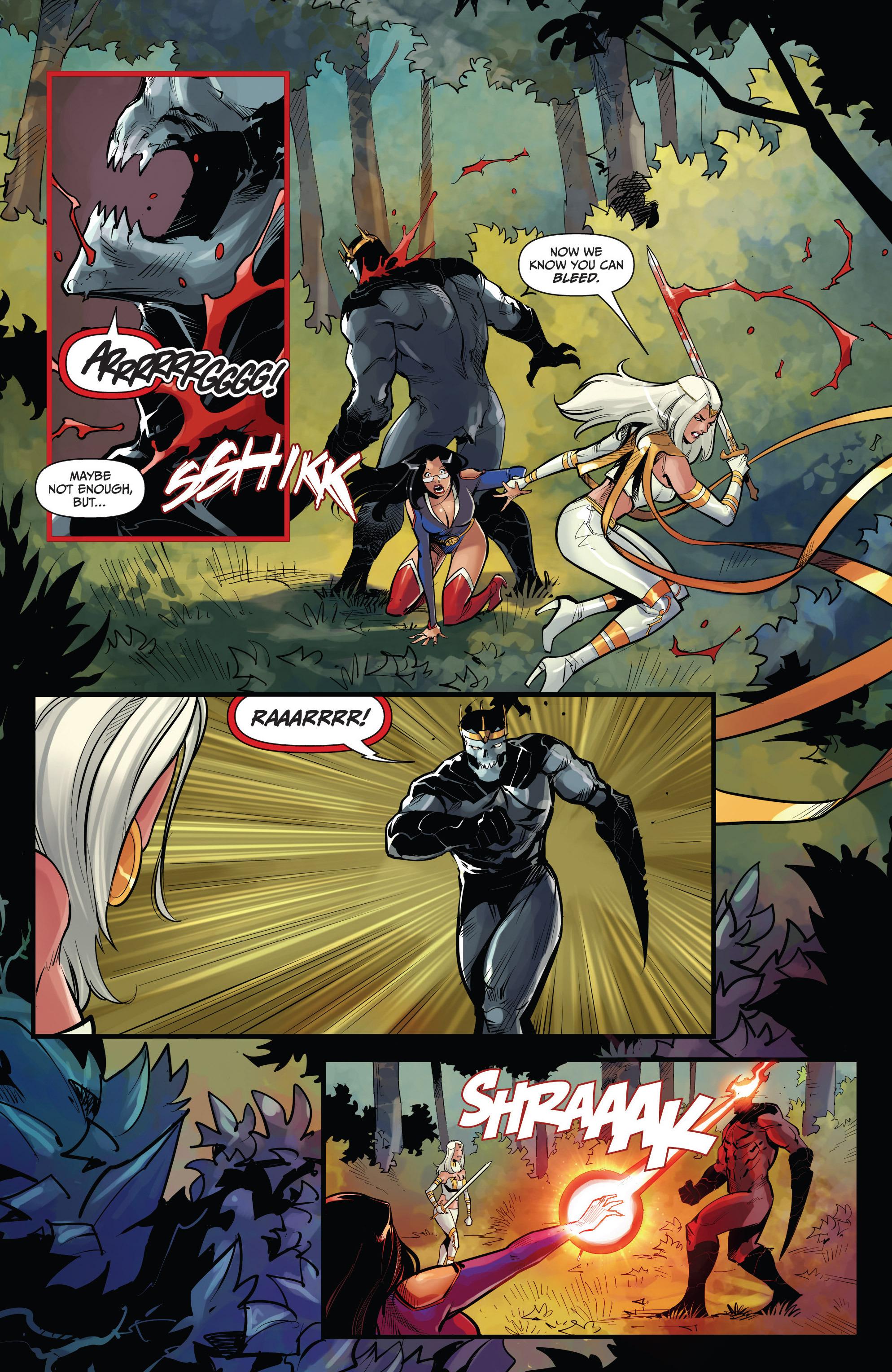 Read online Grimm Fairy Tales vs. Wonderland comic -  Issue #4 - 11