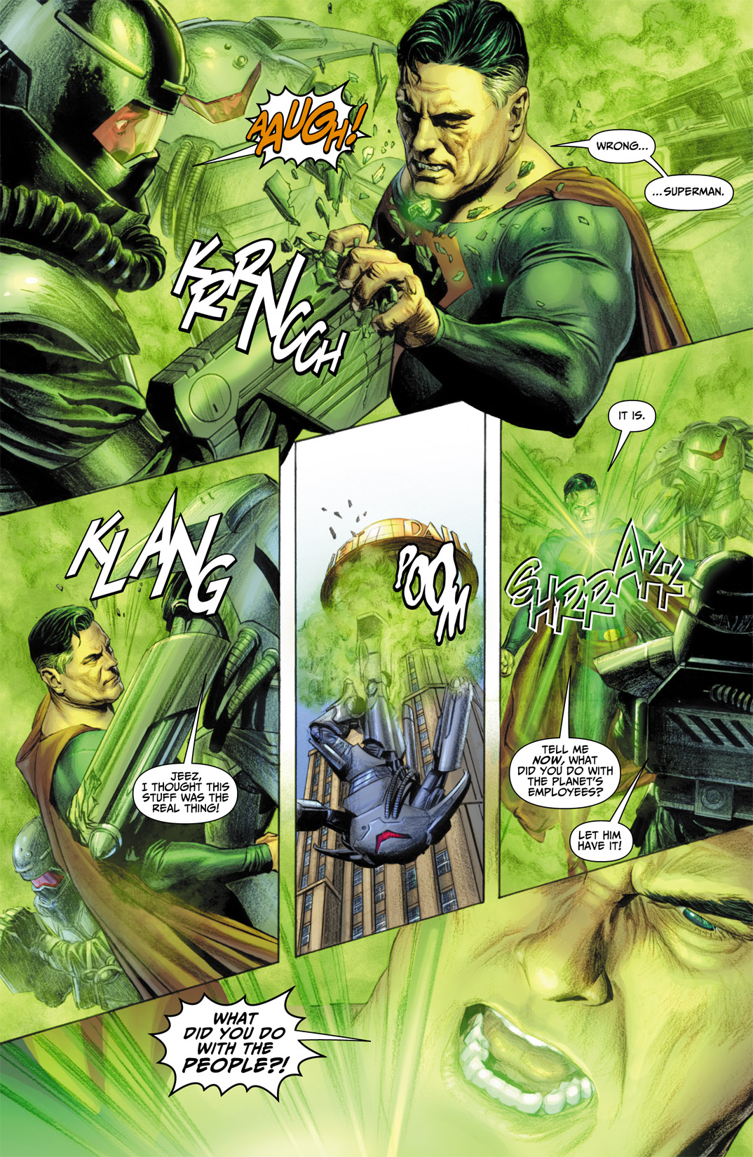 Read online JSA Kingdom Come Special: Superman comic -  Issue # Full - 10