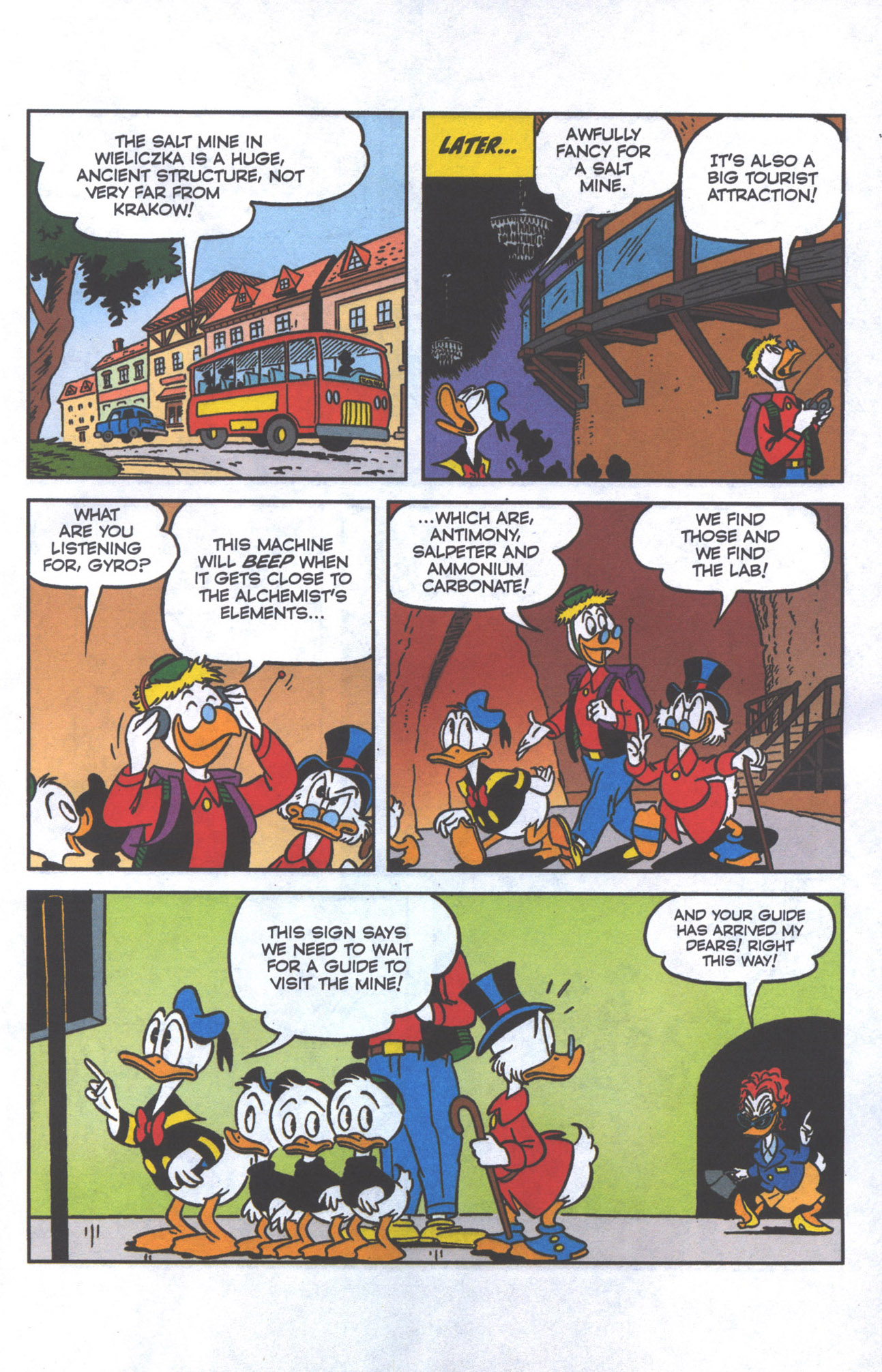 Read online Uncle Scrooge (1953) comic -  Issue #385 - 6