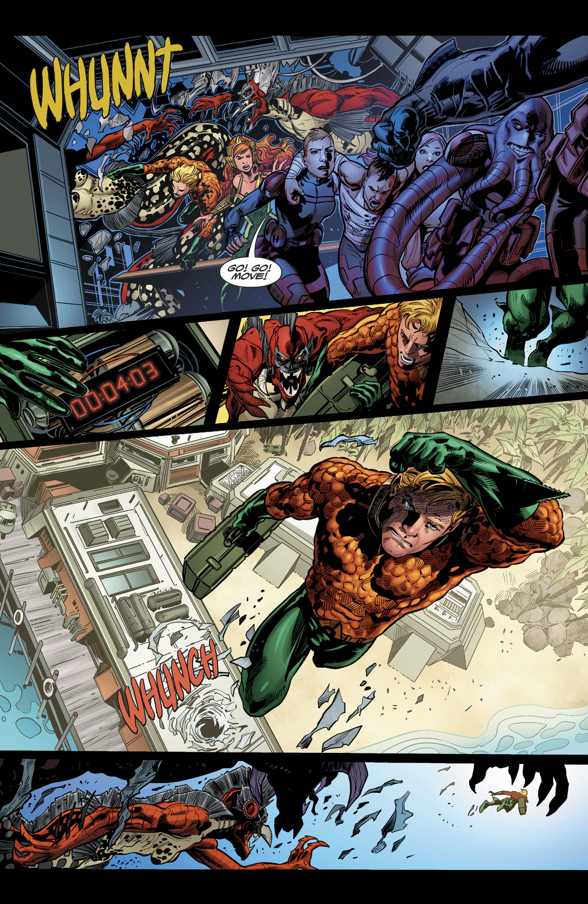 Read online Aquaman (2016) comic -  Issue #22 - 13