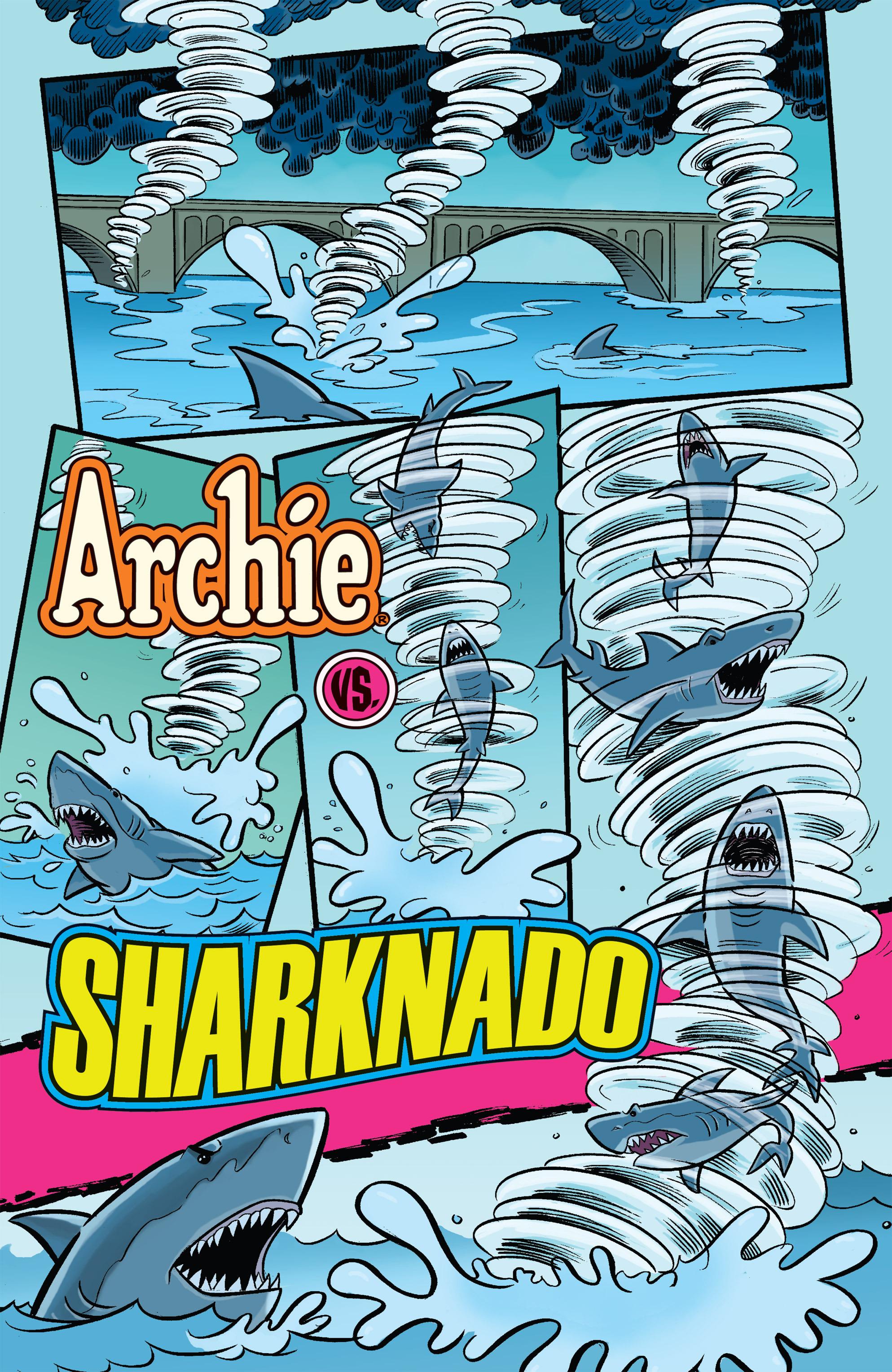 Read online Archie vs. Sharknado comic -  Issue #Archie vs. Sharknado Full - 5