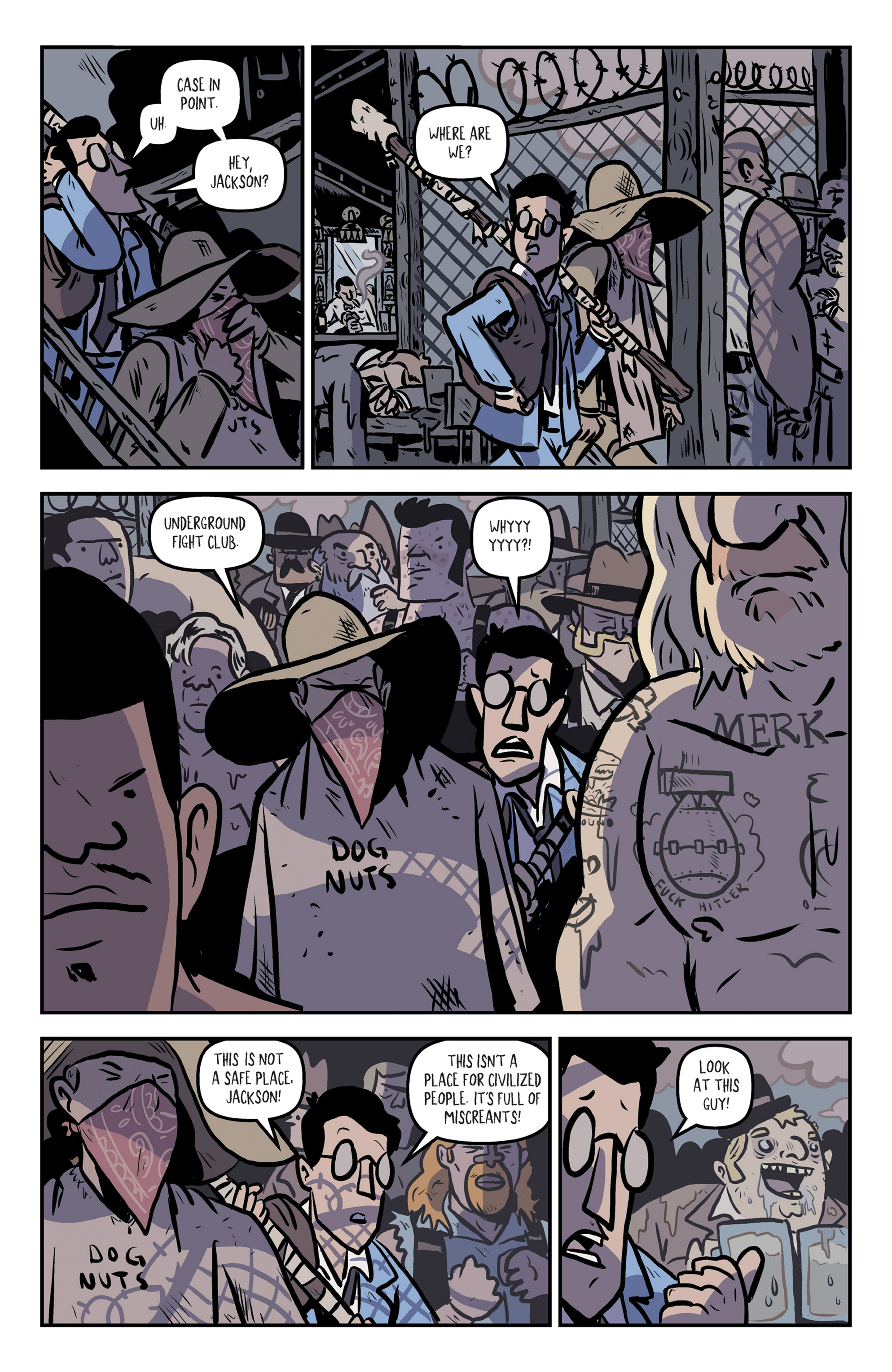 Read online Rock Candy Mountain comic -  Issue #2 - 11