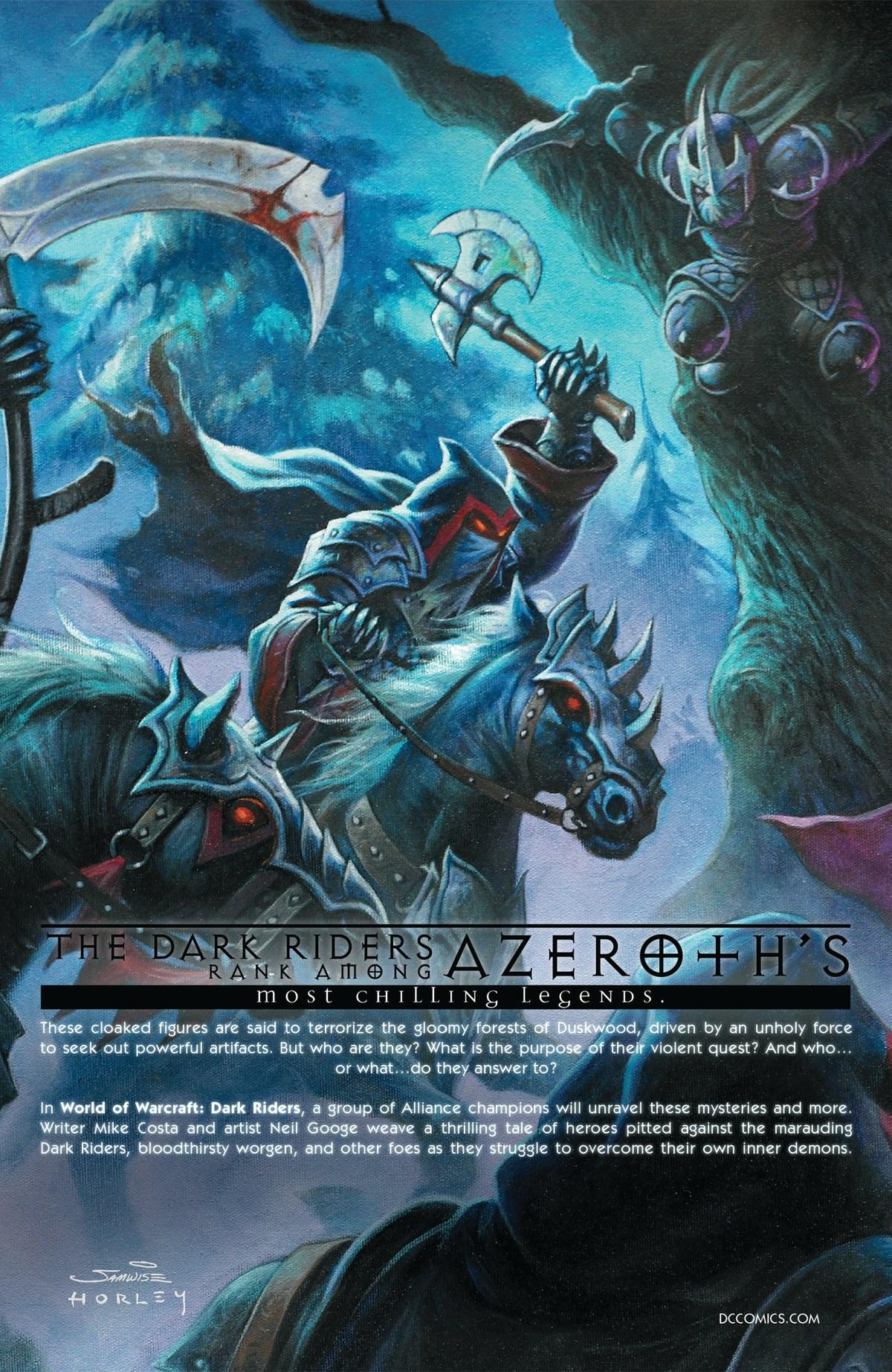 Read online World of Warcraft: Dark Riders comic -  Issue # Full - 142
