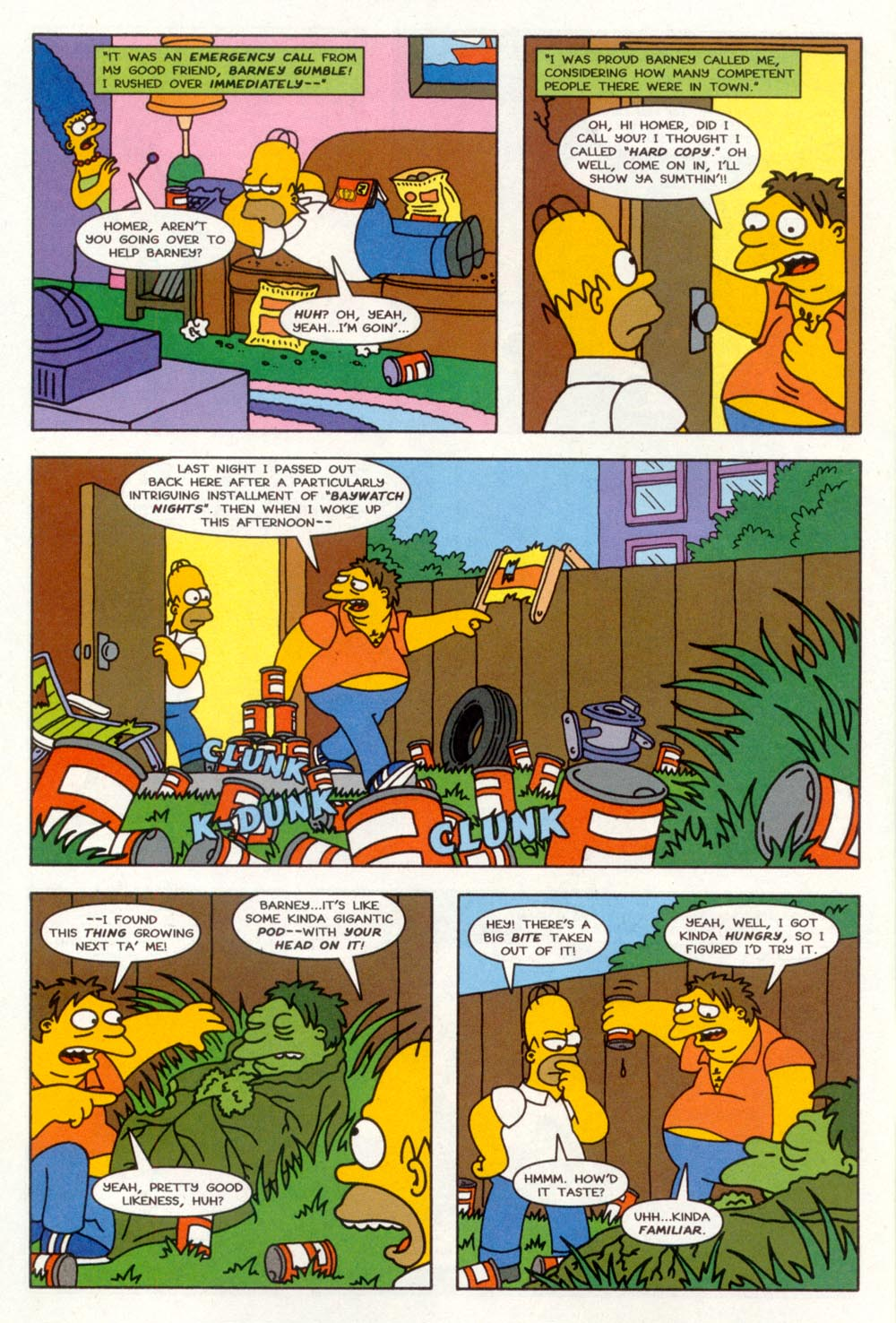 Read online Treehouse of Horror comic -  Issue #3 - 7