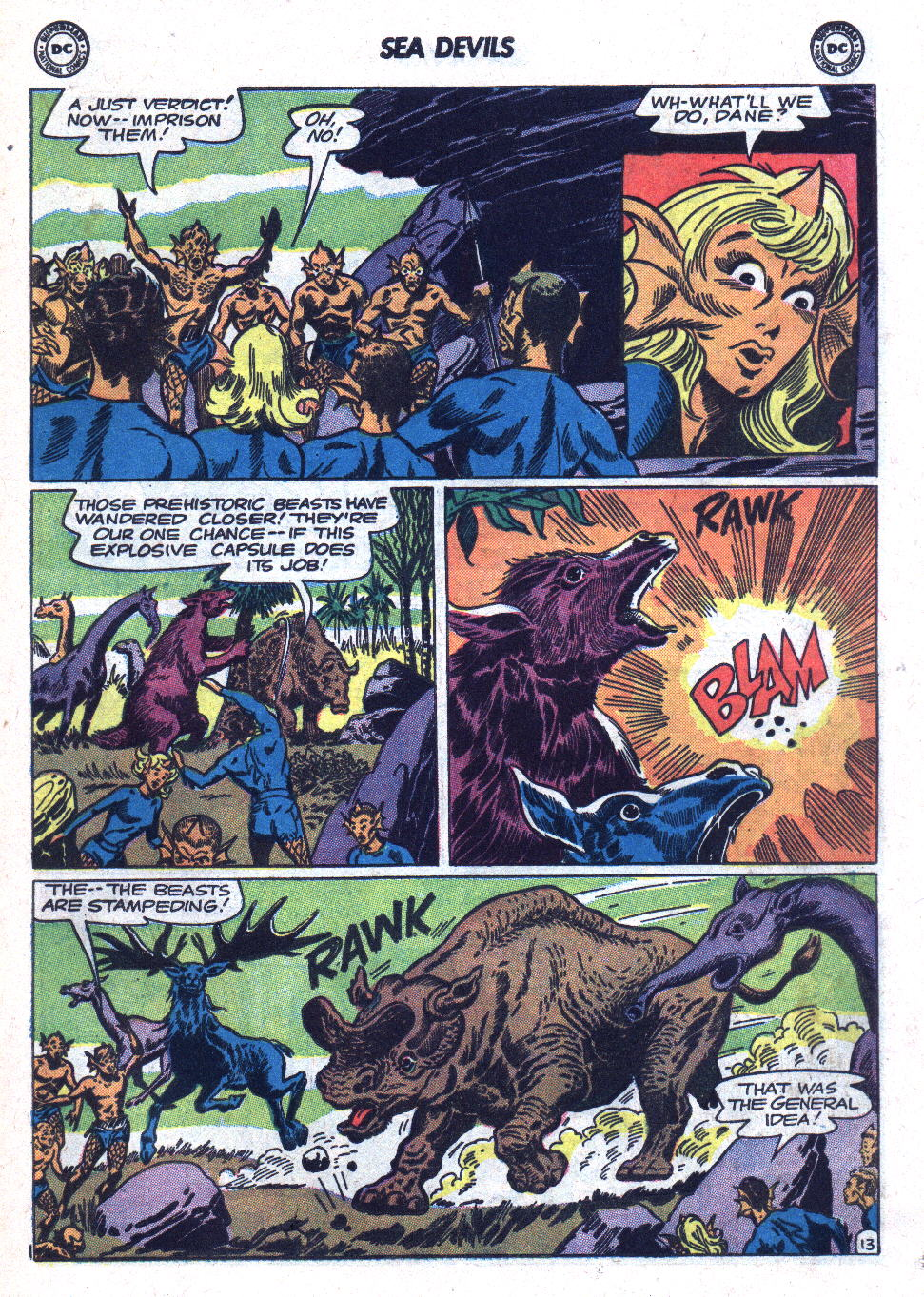 Read online Sea Devils comic -  Issue #18 - 17