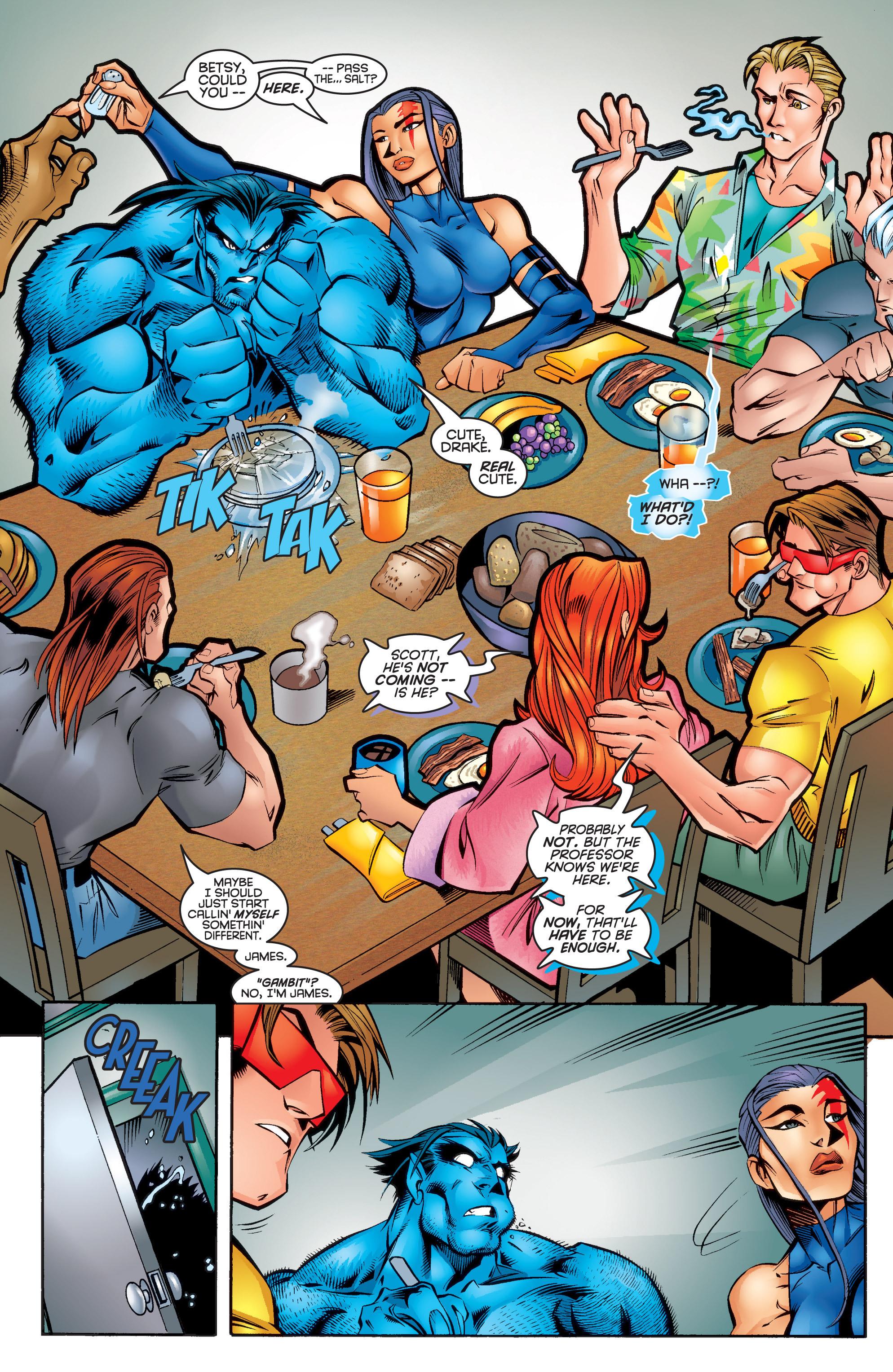 Read online Uncanny X-Men (1963) comic -  Issue #337 - 22