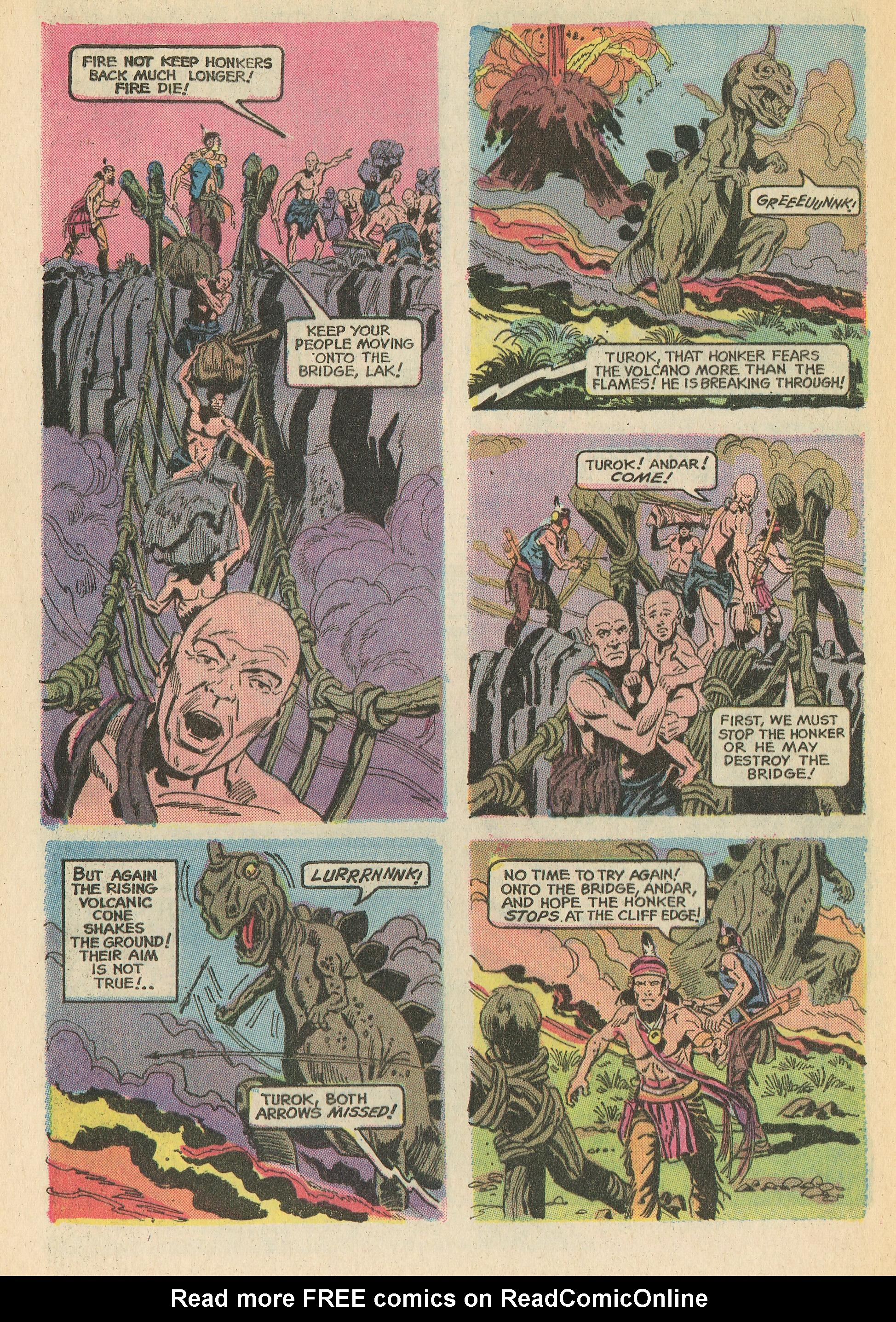 Read online Turok, Son of Stone comic -  Issue #78 - 32