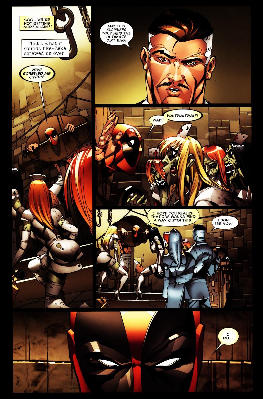 Read online Deadpool (2008) comic -  Issue #5 - 8