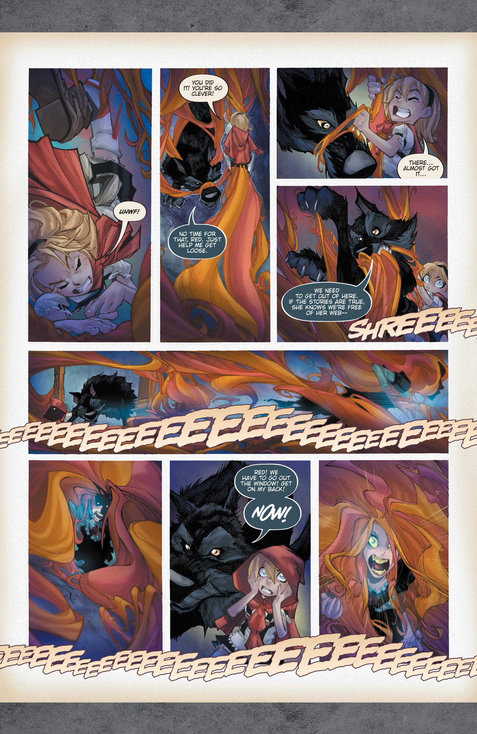 Read online Fairy Quest: Outcasts comic -  Issue #1 - 12