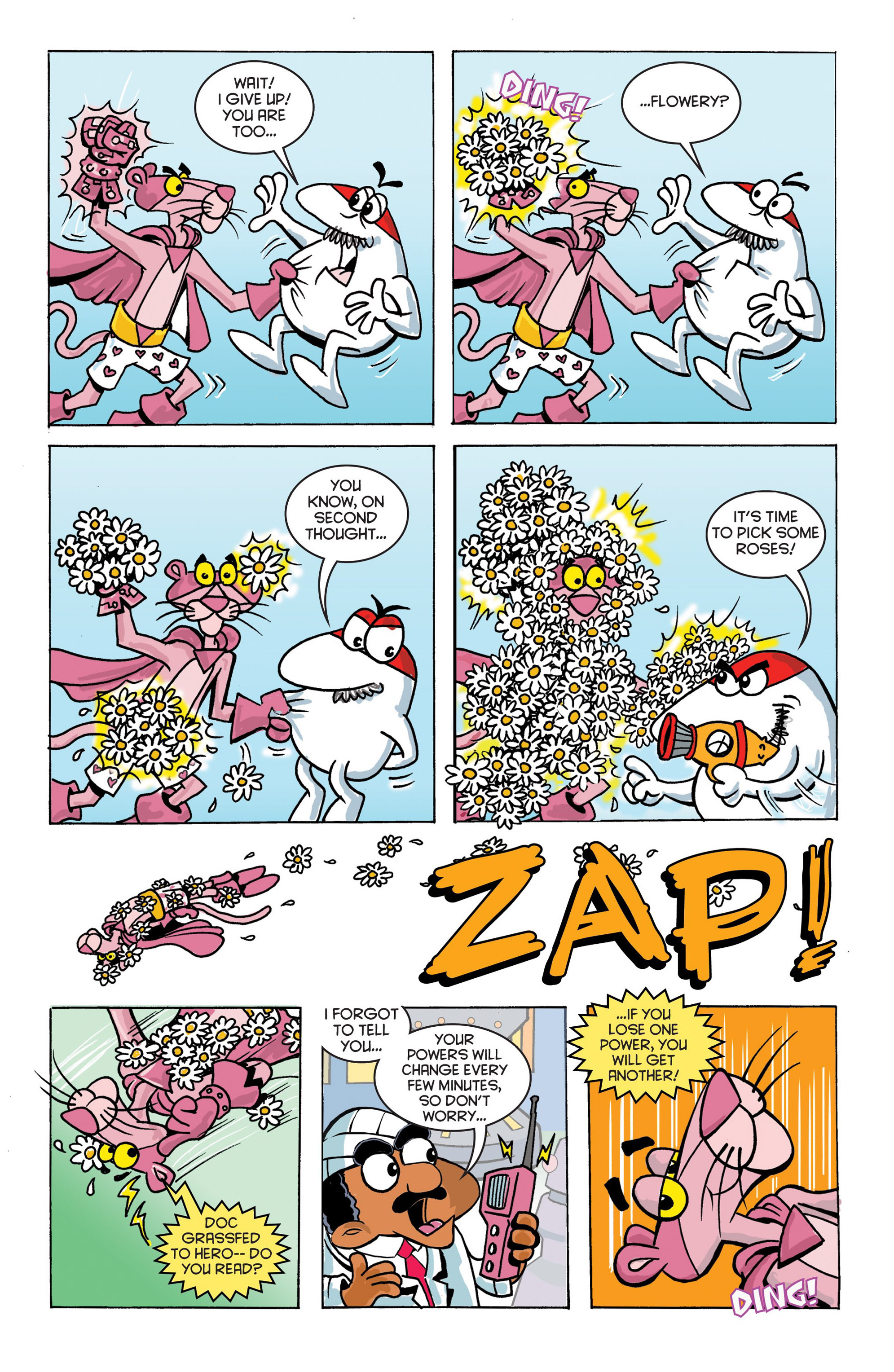 Read online Pink Panther Super-Pink Special comic -  Issue # Full - 16