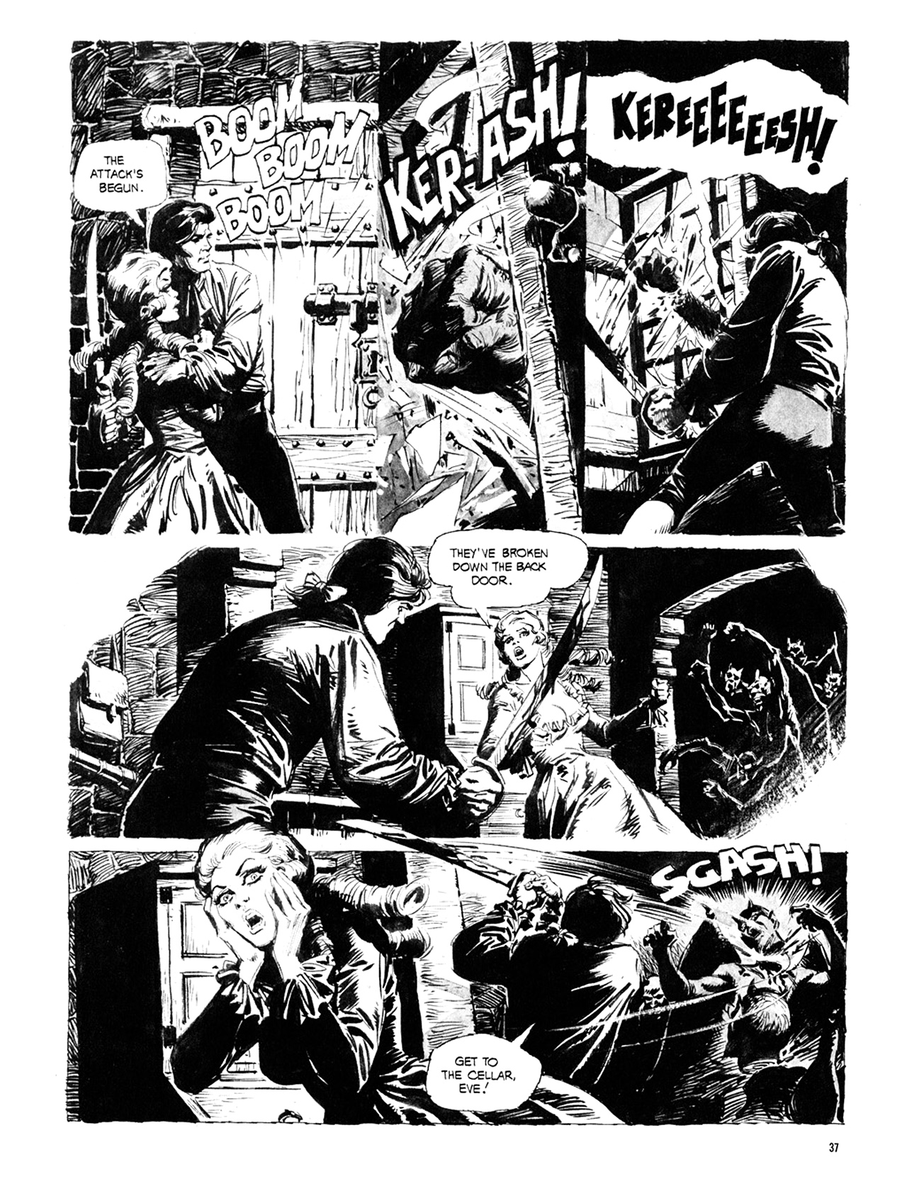 Read online Eerie Archives comic -  Issue # TPB 10 - 38