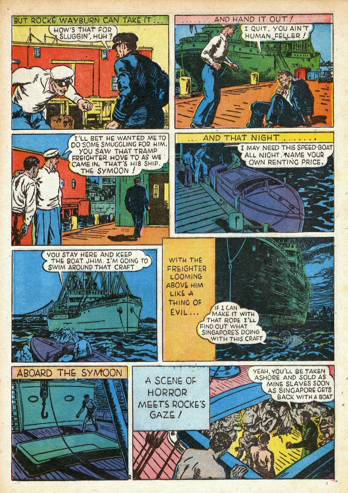 Read online Amazing Man Comics comic -  Issue #16 - 31