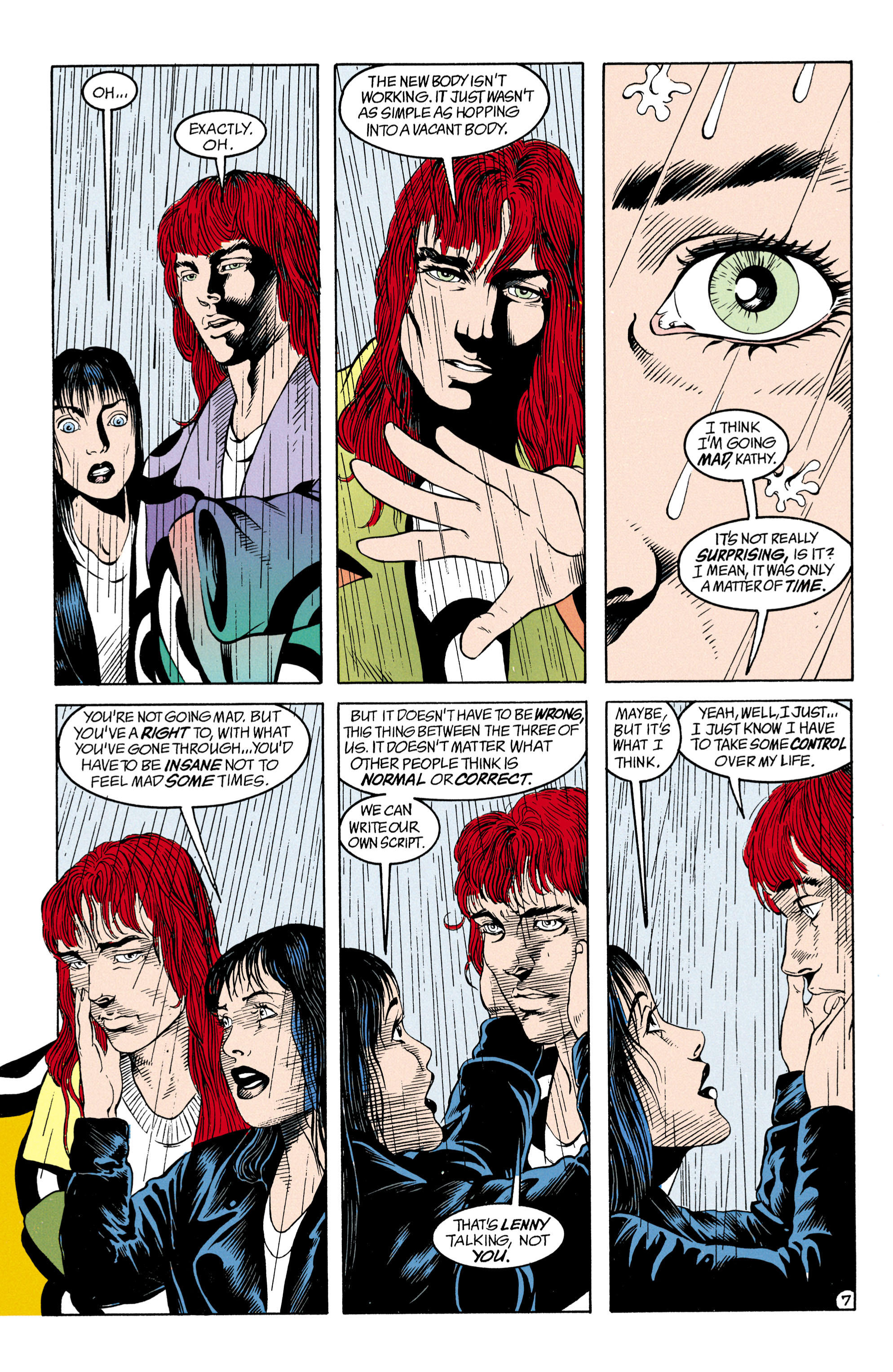 Read online Shade, the Changing Man comic -  Issue #31 - 8
