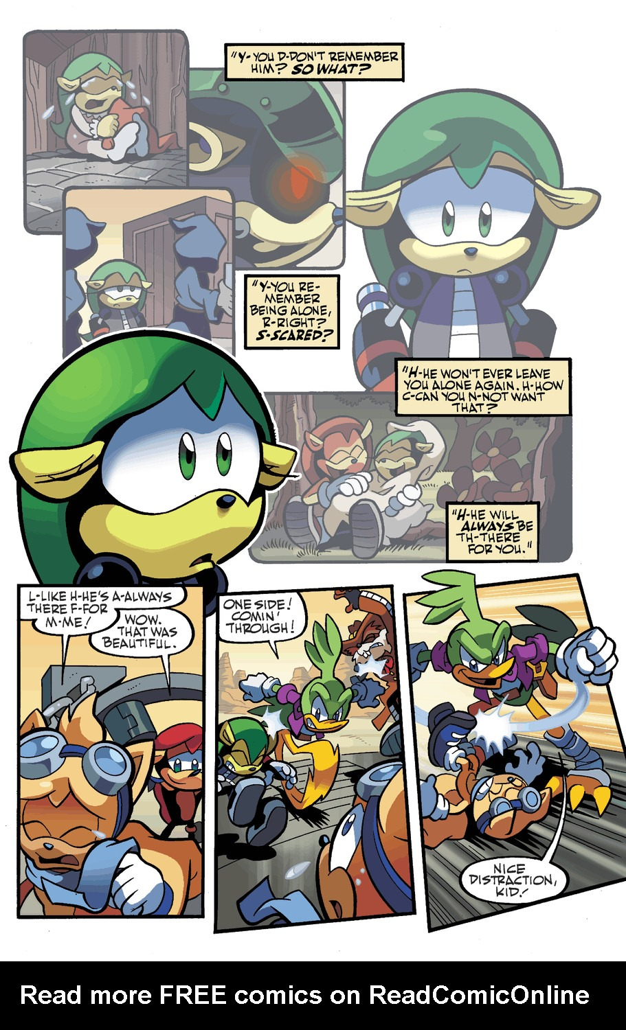 Read online Sonic Universe comic -  Issue #49 - 13