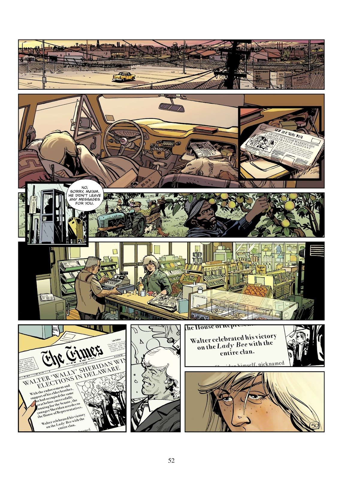 XIII Mystery issue 8 - Page 54
