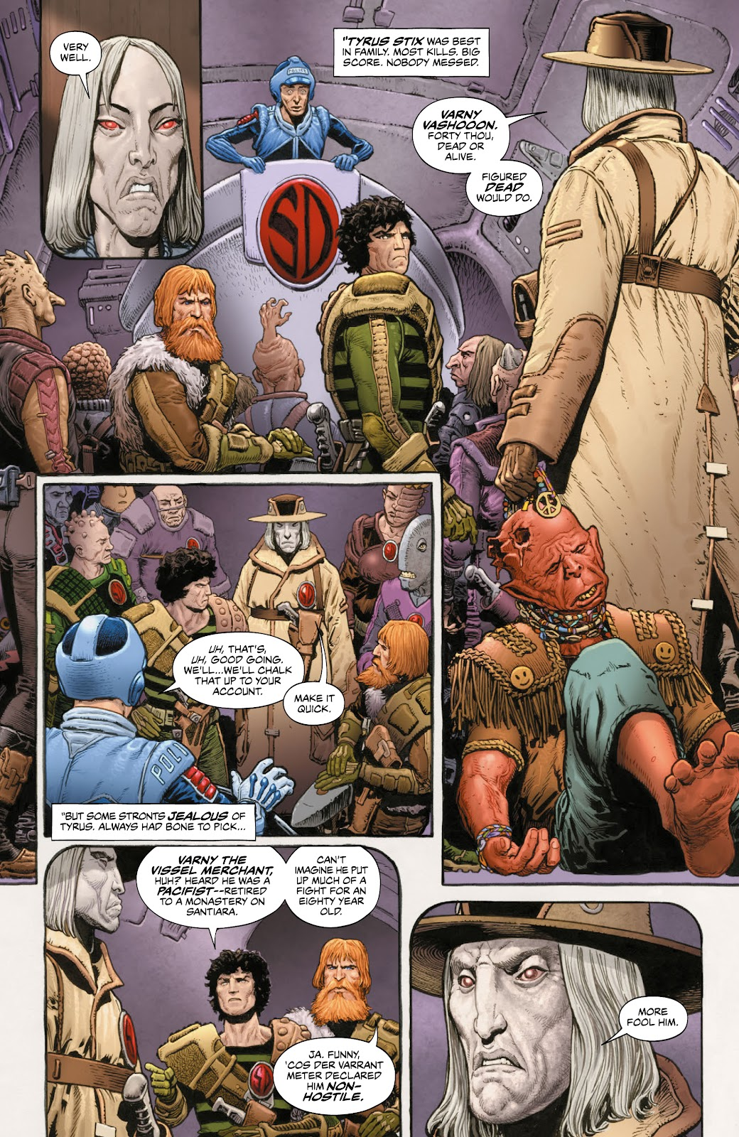 Read online 2000 AD Villains Special comic -  Issue # Full - 25