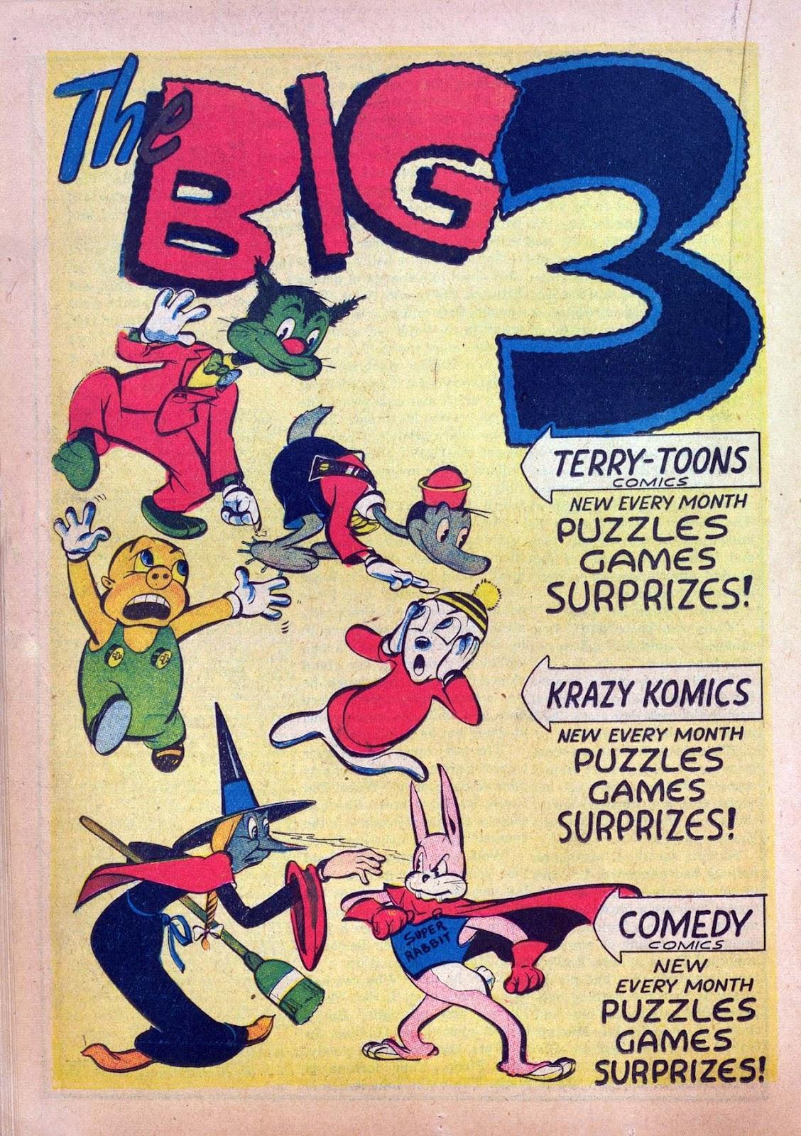 Read online Joker Comics comic -  Issue #7 - 34