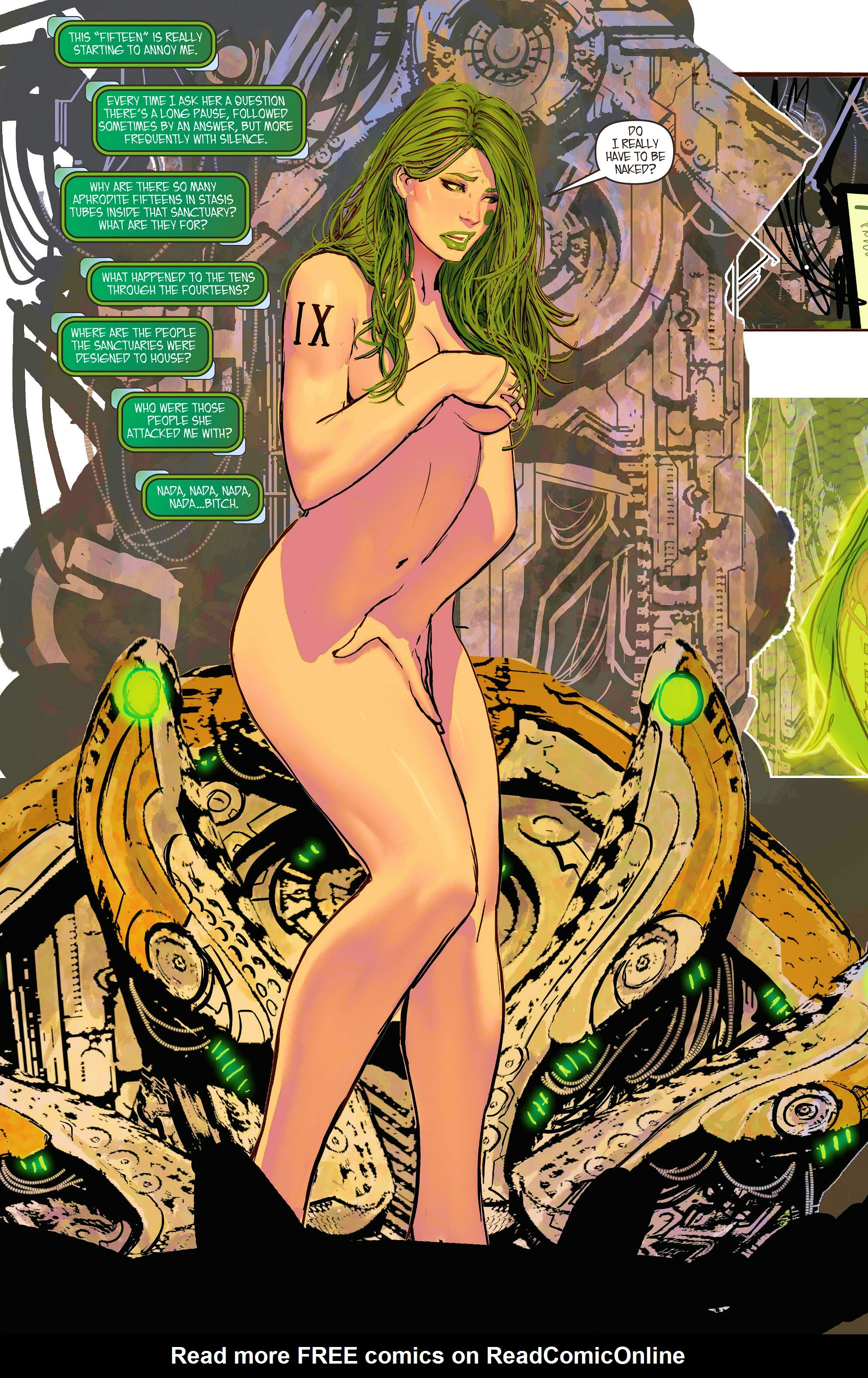 Read online Aphrodite IX (2013) comic -  Issue #7 - 8