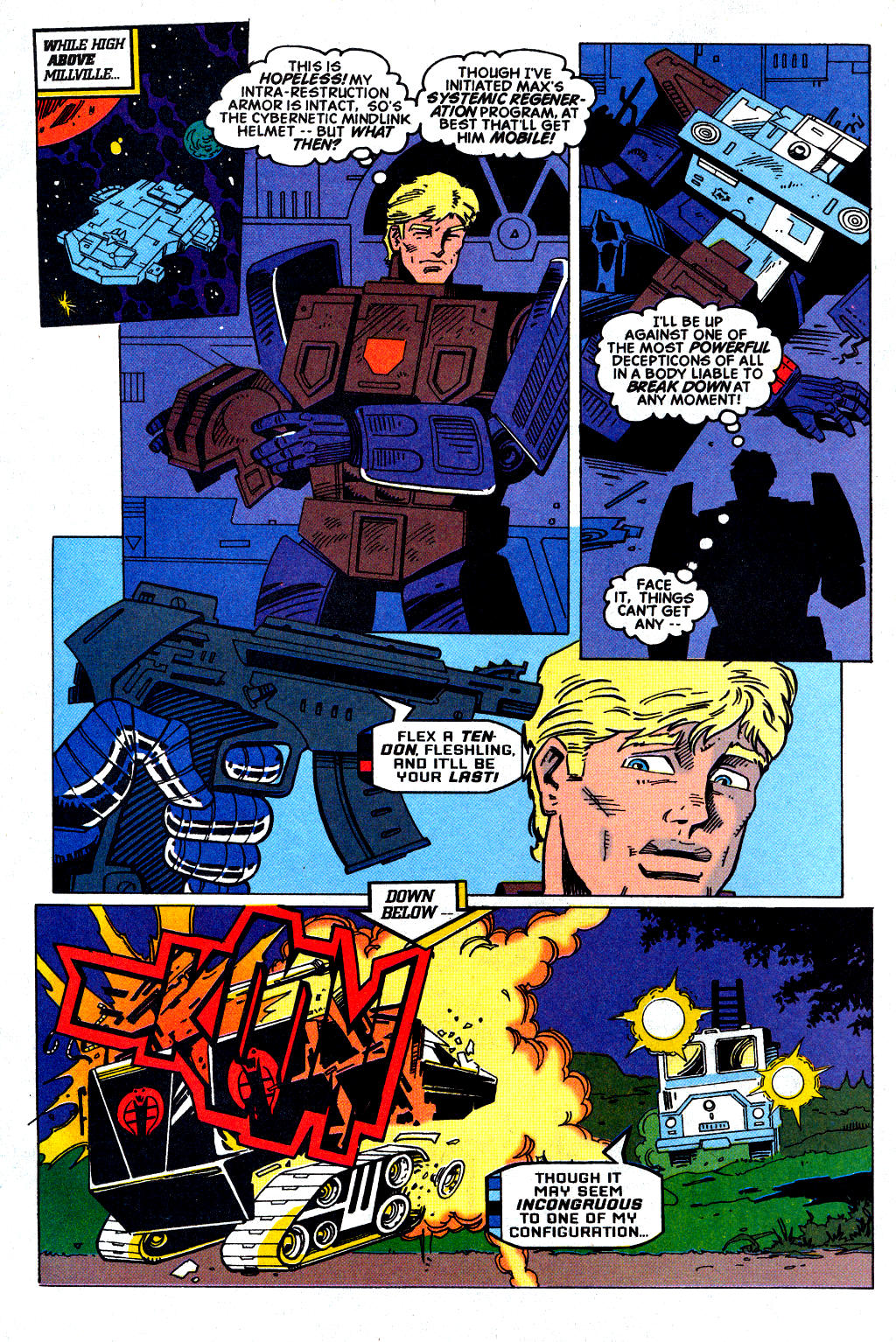 Read online Transformers: Generation 2 comic -  Issue #2 - 7