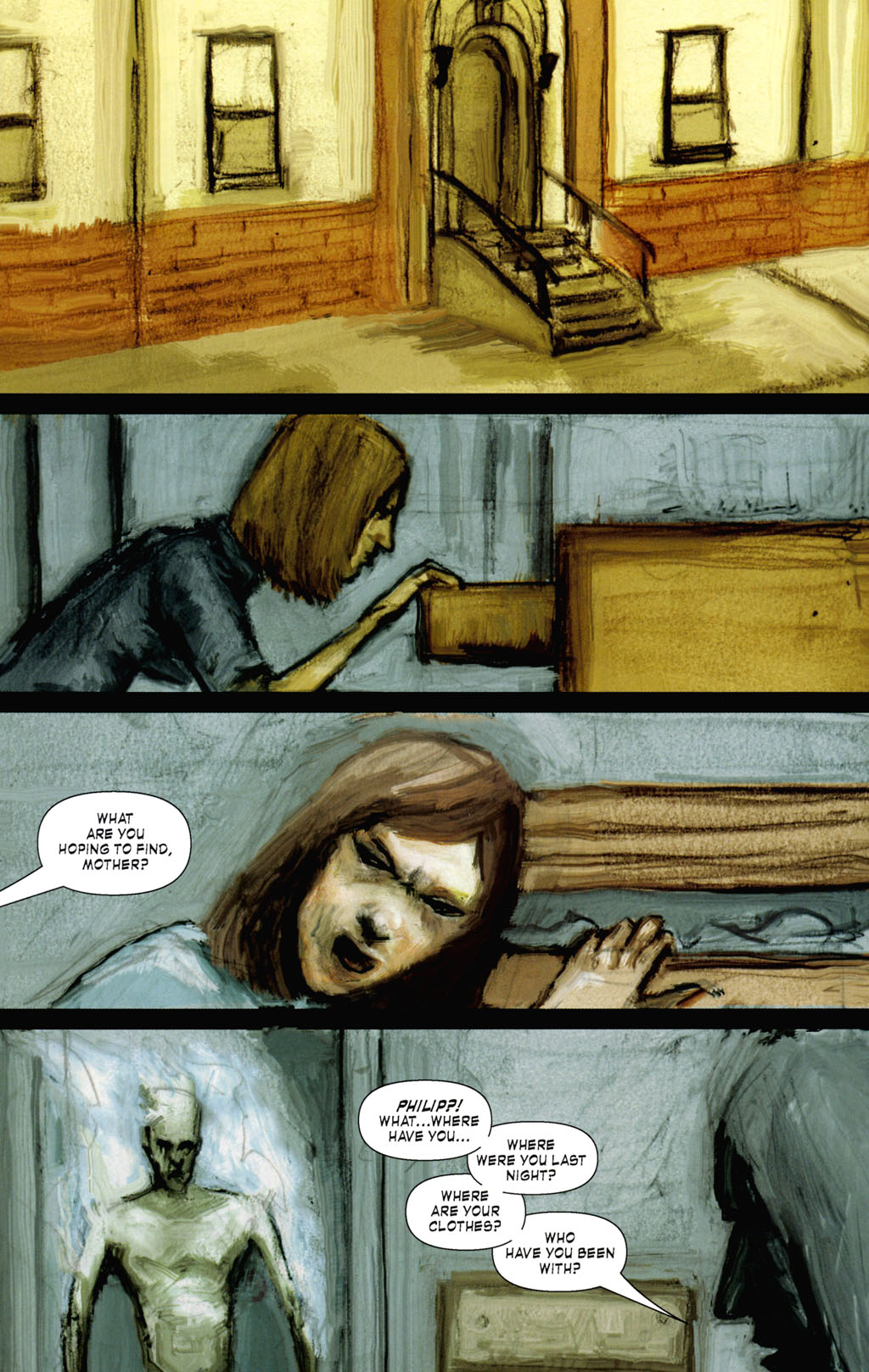 Read online ShadowHawk (2005) comic -  Issue #8 - 12