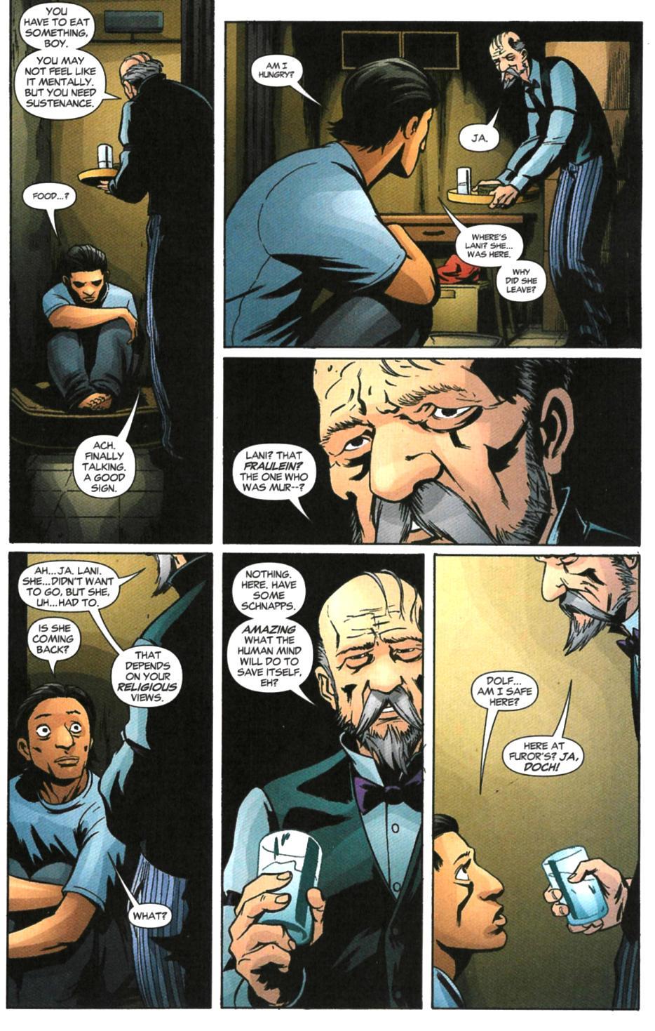 Read online Fallen Angel (2003) comic -  Issue #6 - 8