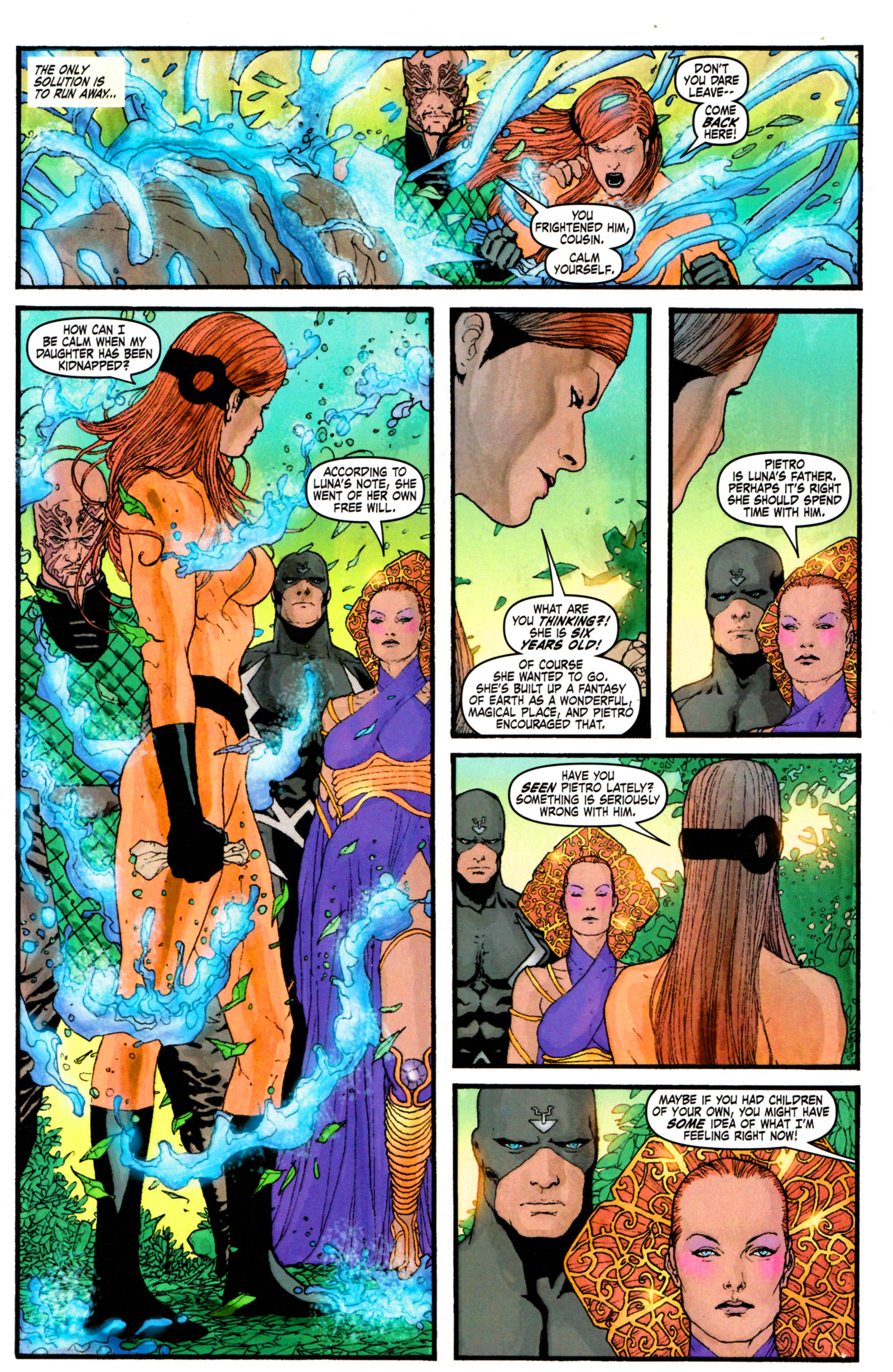 Read online Son of M comic -  Issue #4 - 5
