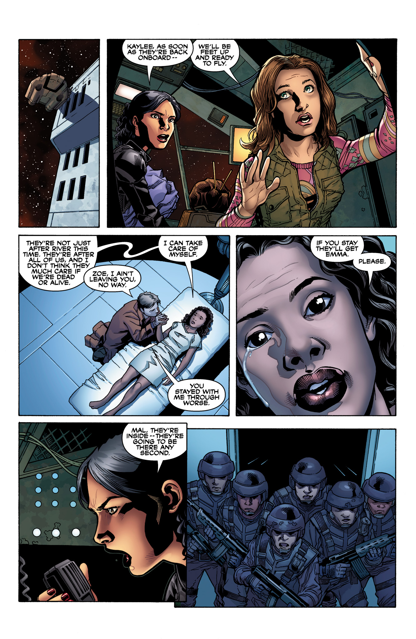 Read online Serenity: Firefly Class 03-K64  Leaves on the Wind comic -  Issue #2 - 9