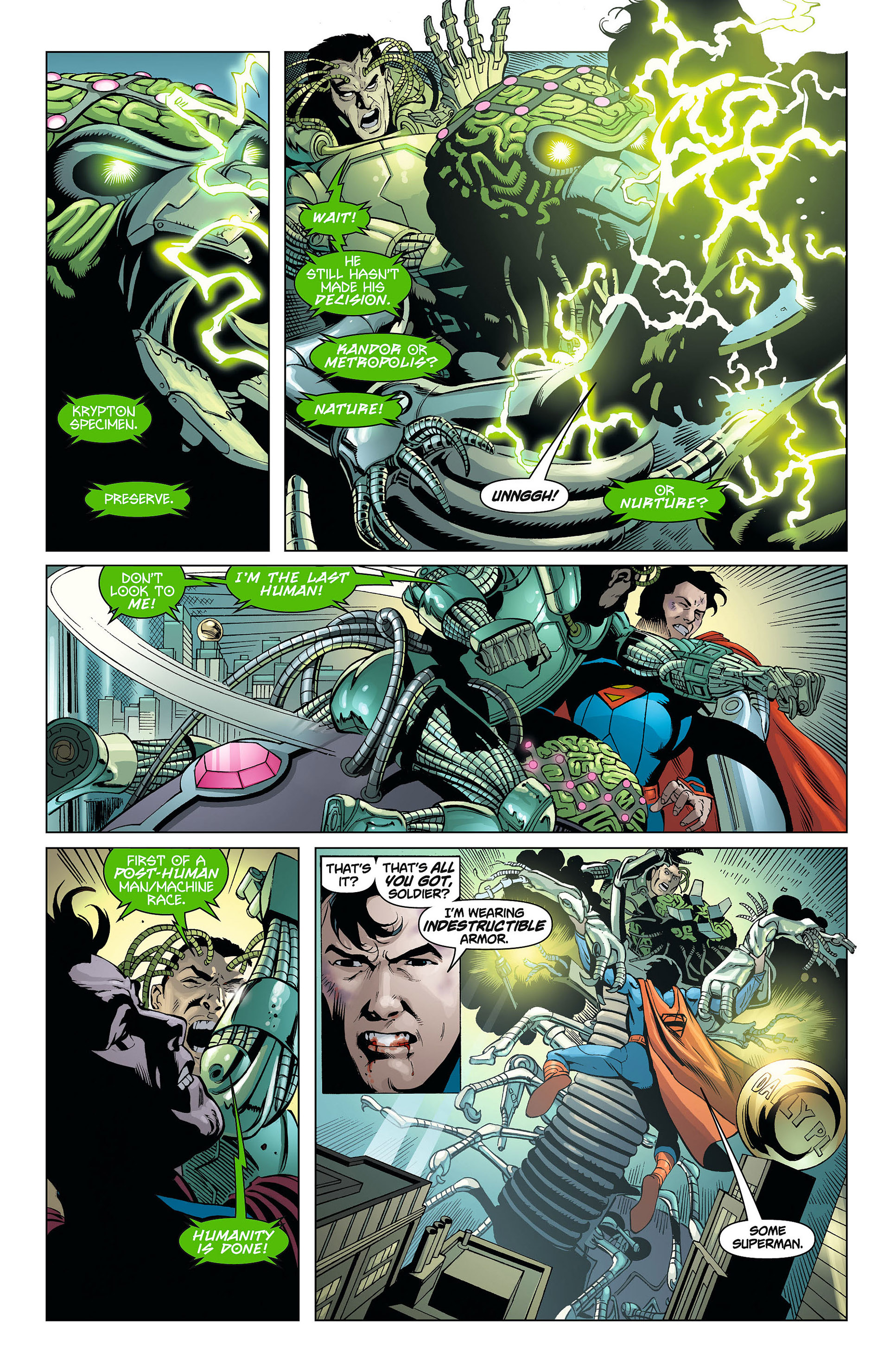 Read online Action Comics (2011) comic -  Issue #8 - 9