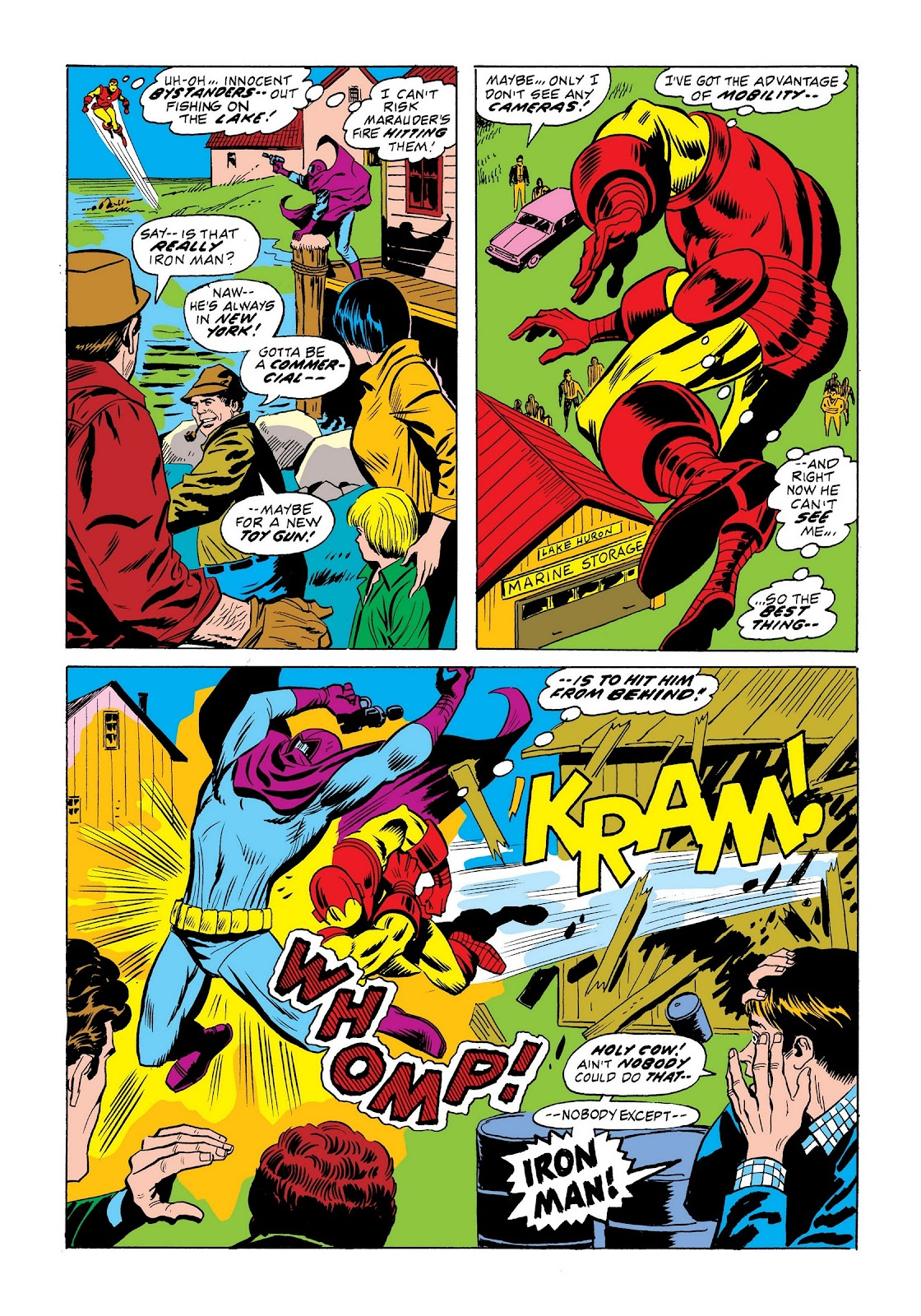 Read online Marvel Masterworks: The Invincible Iron Man comic -  Issue # TPB 9 (Part 2) - 50