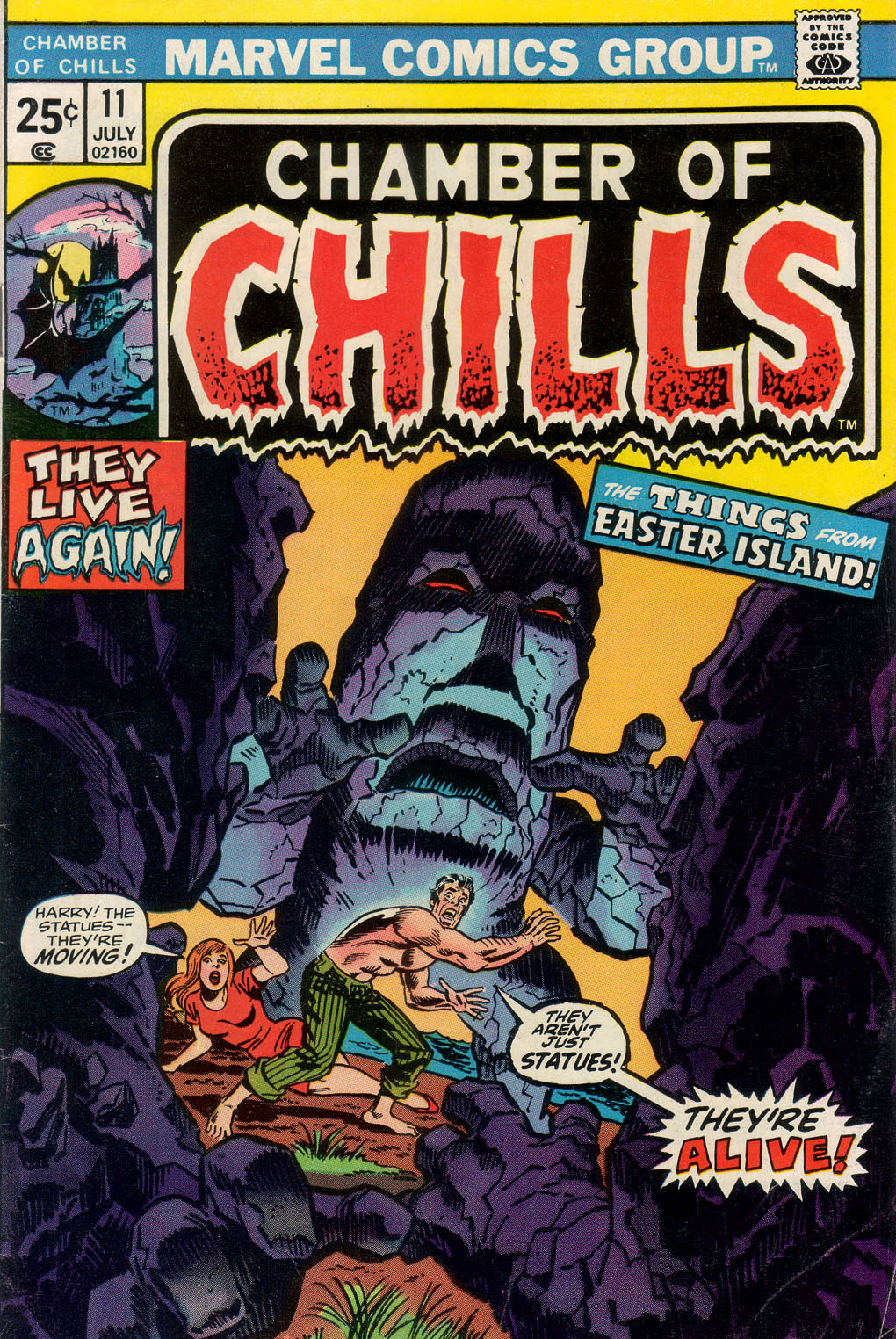 Chamber of Chills (1972) issue 11 - Page 1