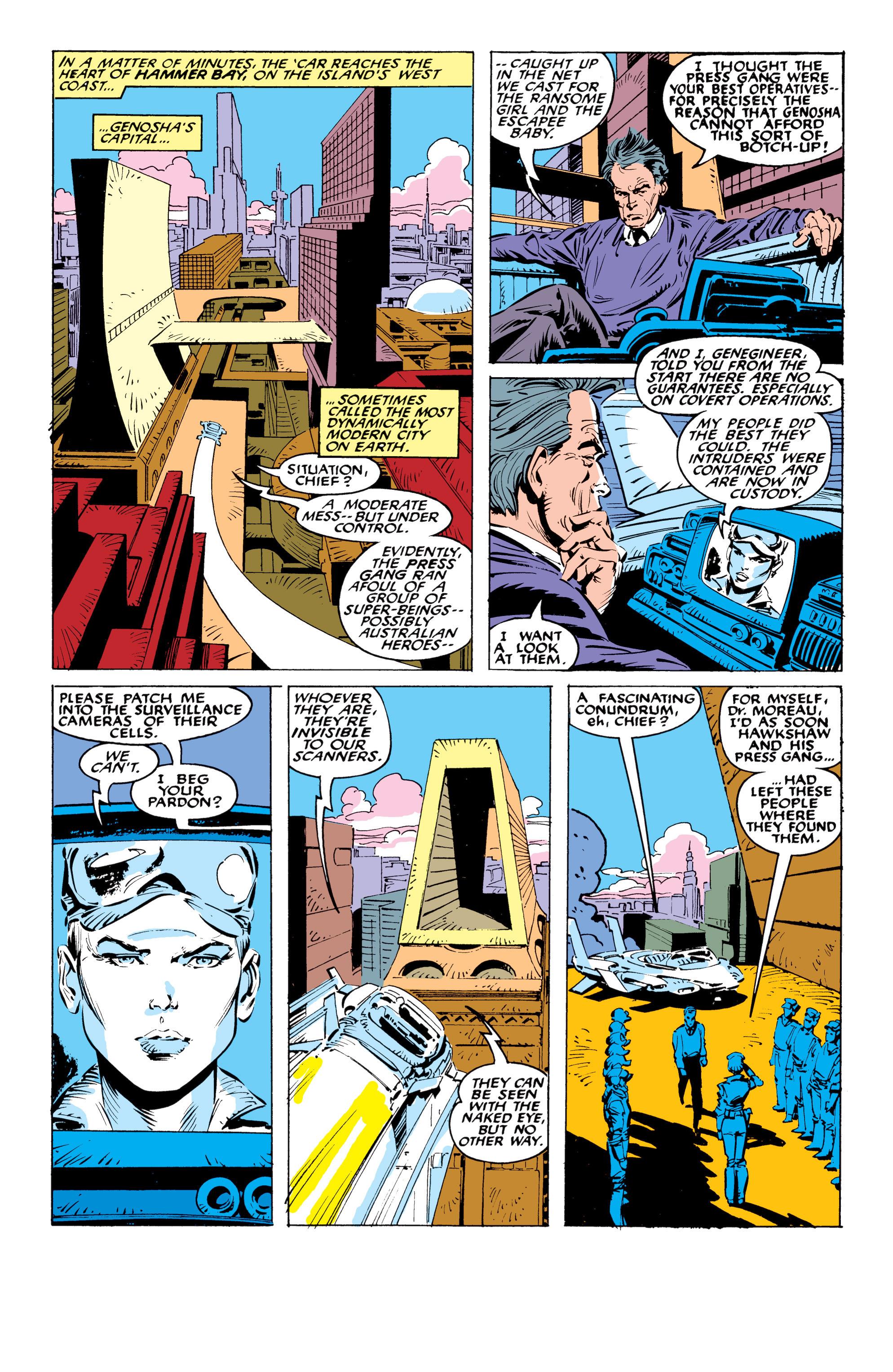 Read online Uncanny X-Men (1963) comic -  Issue #236 - 8