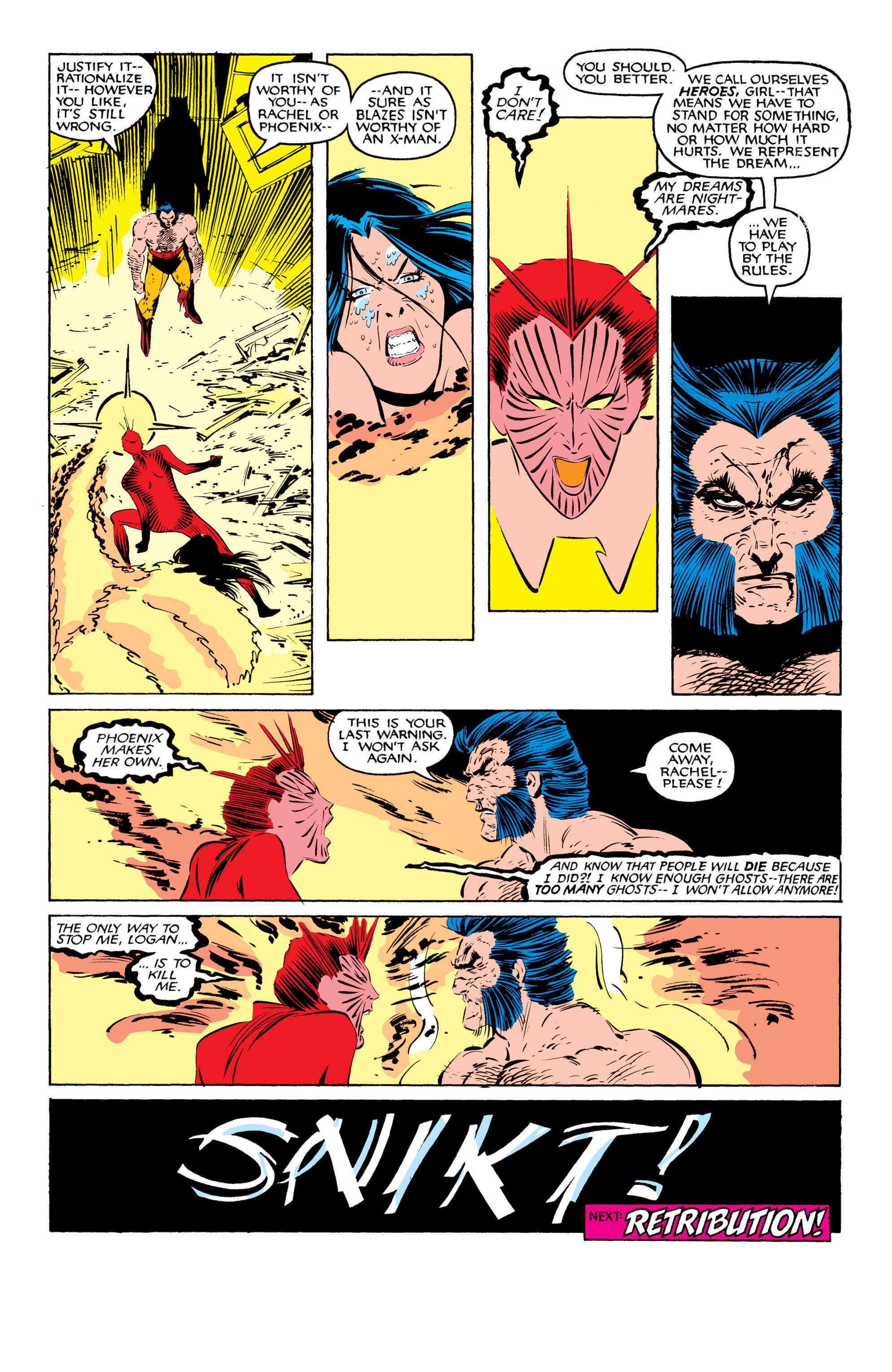 Read online Uncanny X-Men (1963) comic -  Issue #207 - 25