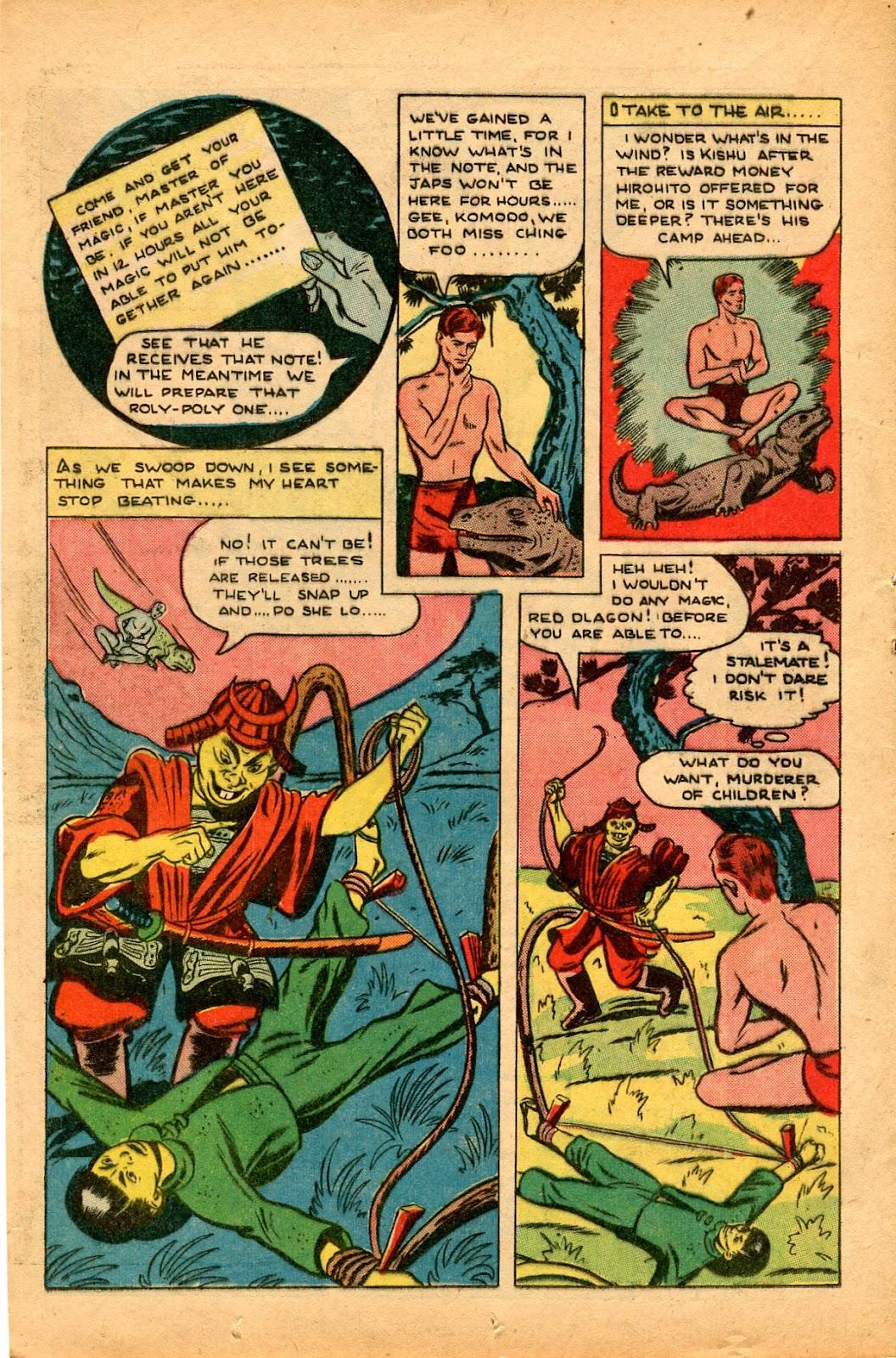Read online Super-Magician Comics comic -  Issue #33 - 18