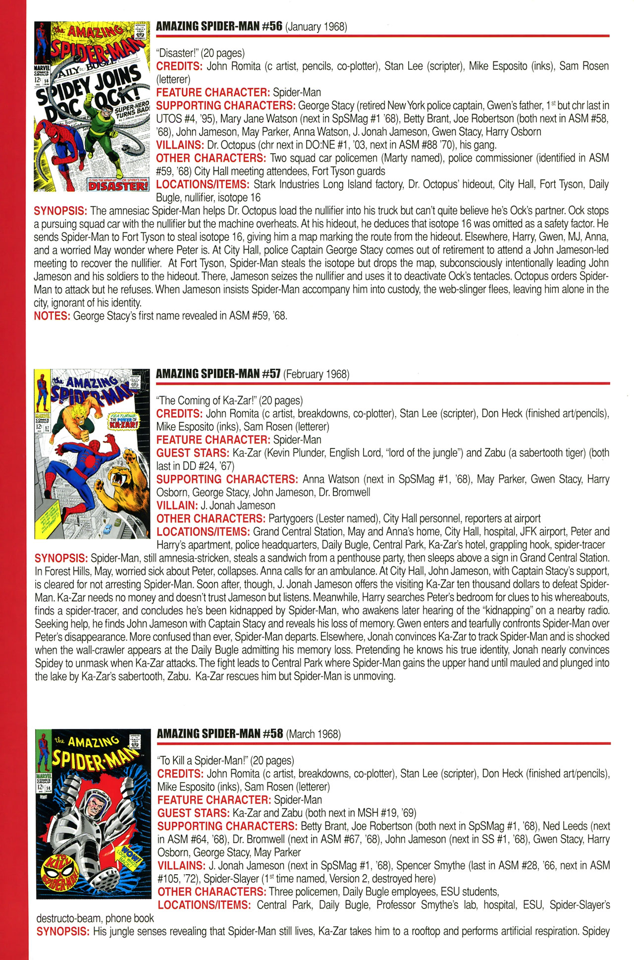 Read online Official Index to the Marvel Universe comic -  Issue #2 - 4