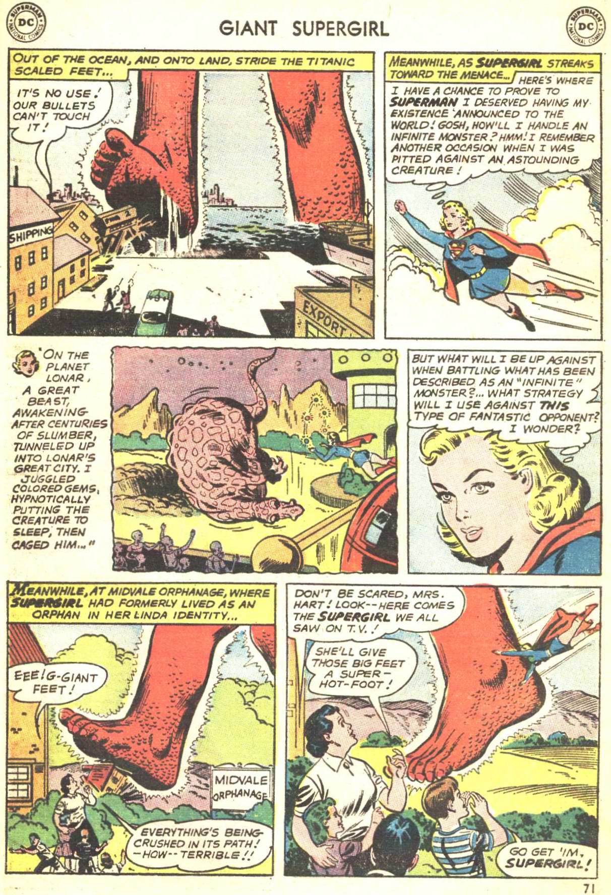 Read online Action Comics (1938) comic -  Issue #360 - 70