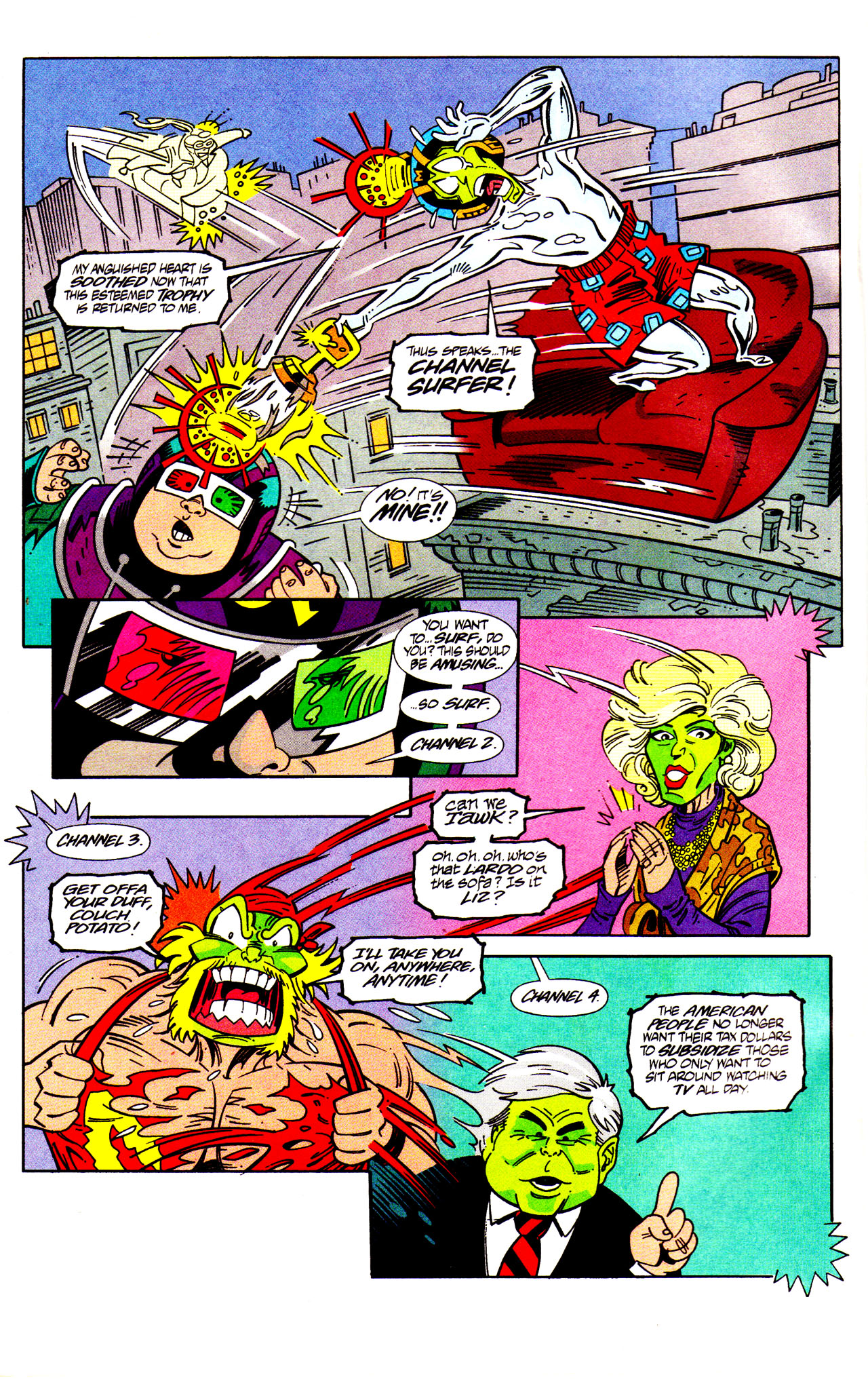 Read online Adventures Of The Mask comic -  Issue #7 - 22