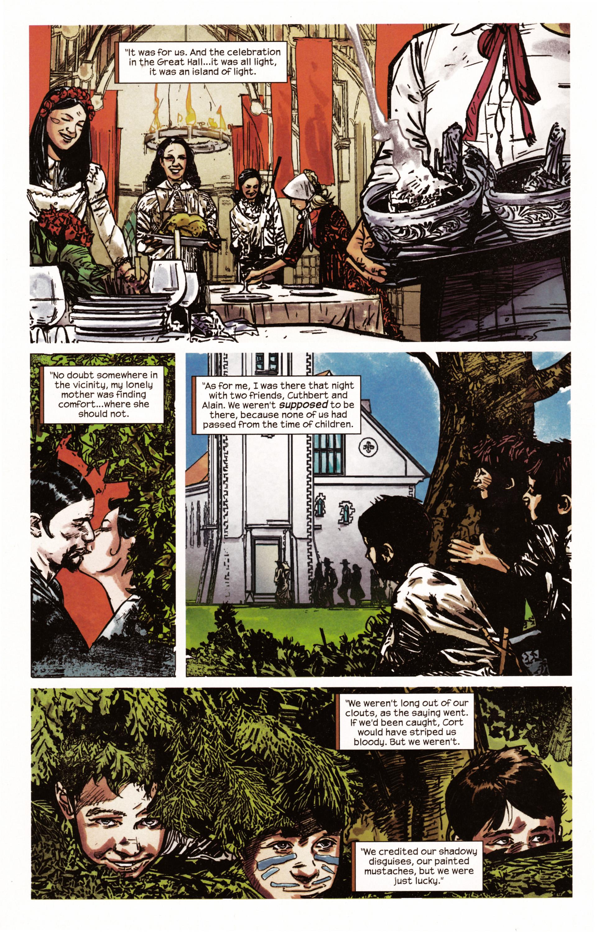 Read online Dark Tower: The Gunslinger - The Man in Black comic -  Issue #2 - 15