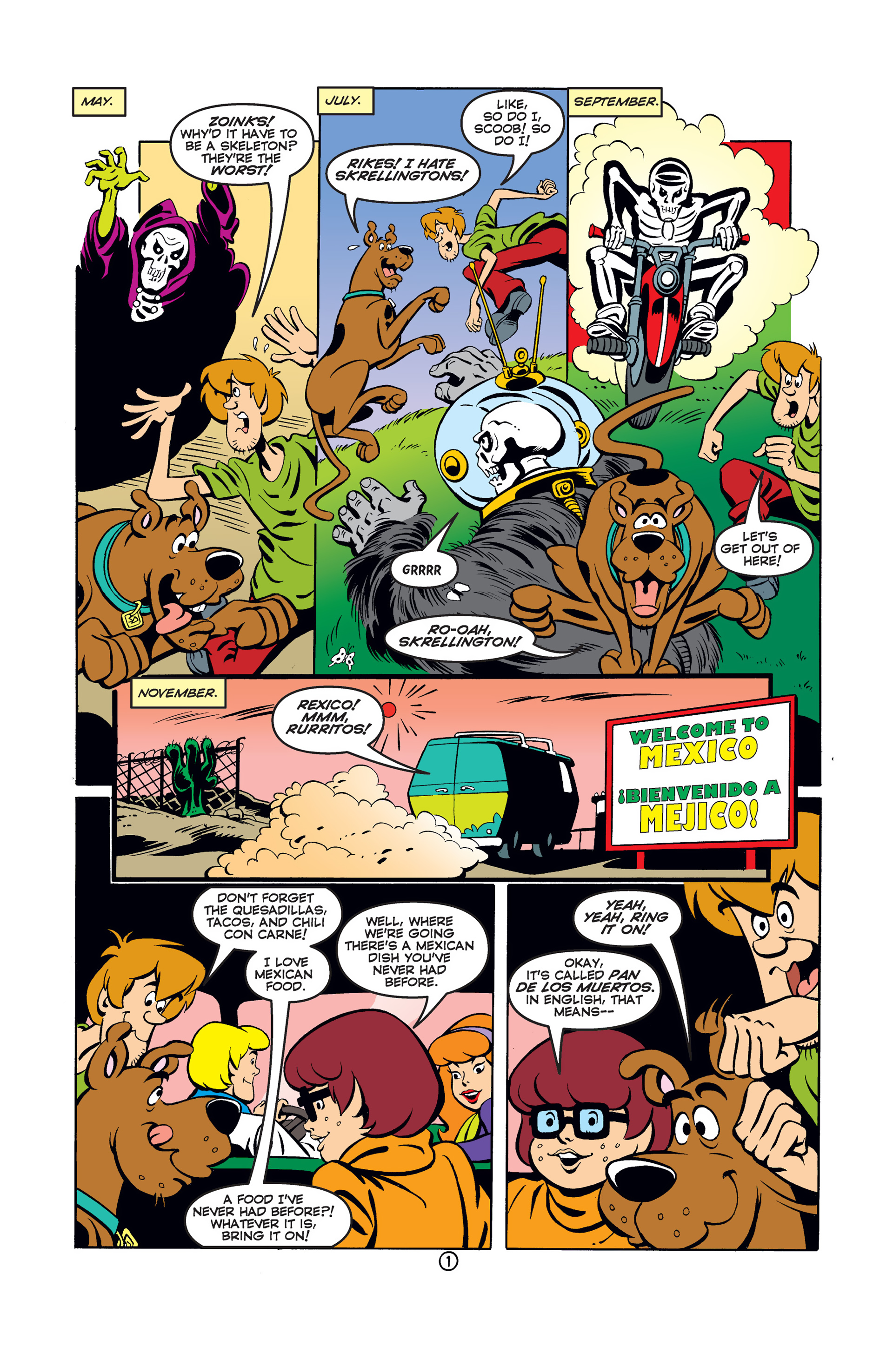 Read online Scooby-Doo (1997) comic -  Issue #42 - 2