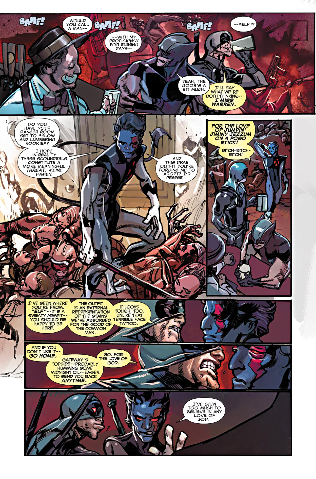 Read online Uncanny X-Force (2010) comic -  Issue #20 - 10