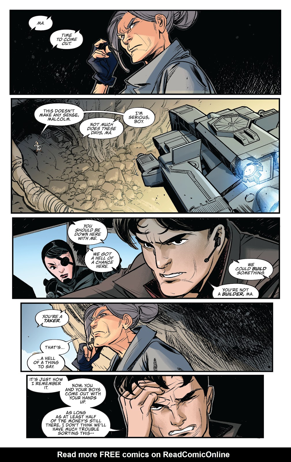 Read online Firefly: The Outlaw Ma Reynolds comic -  Issue # Full - 22