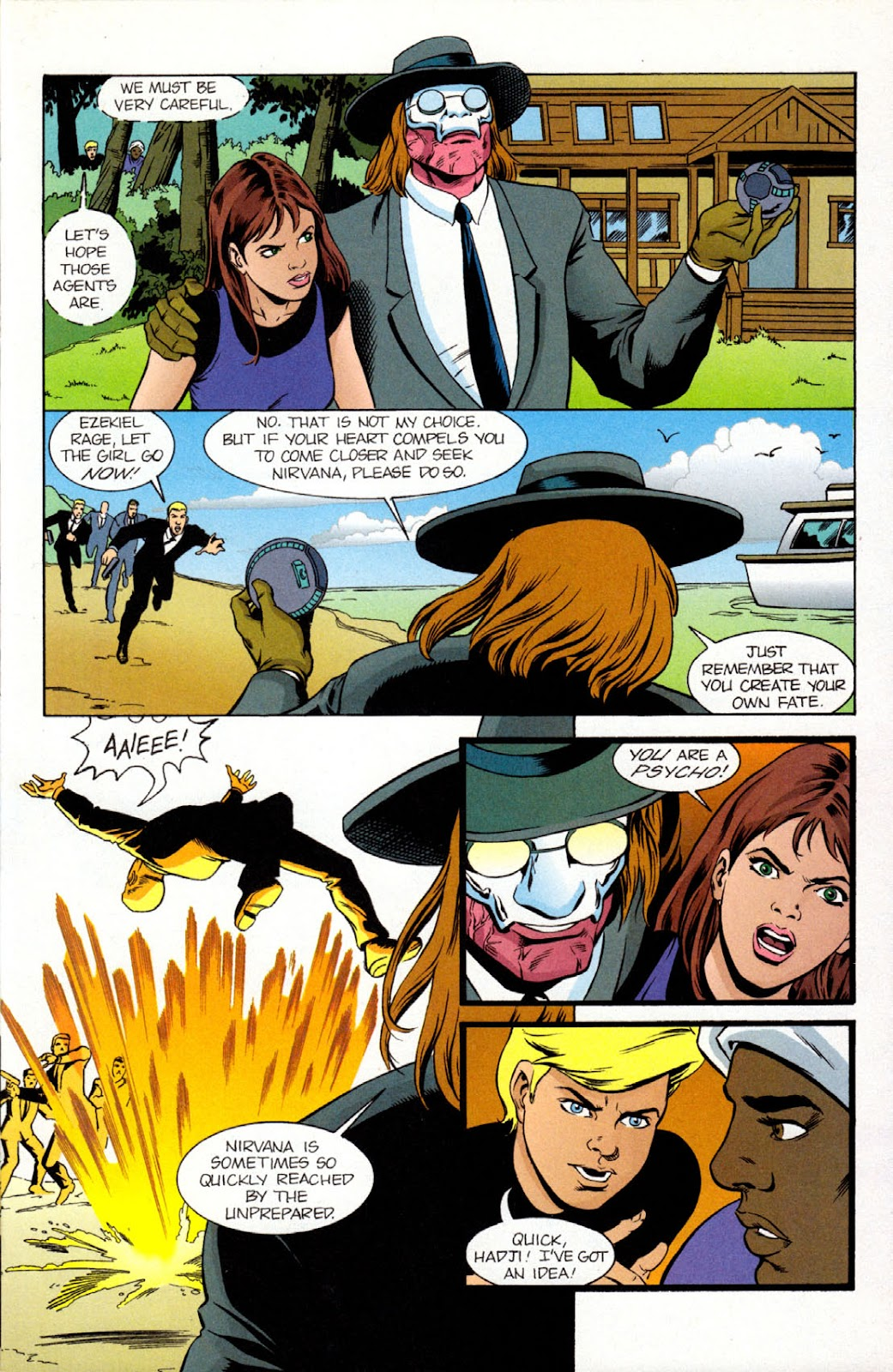 Read online The Real Adventures of Jonny Quest comic -  Issue #9 - 25