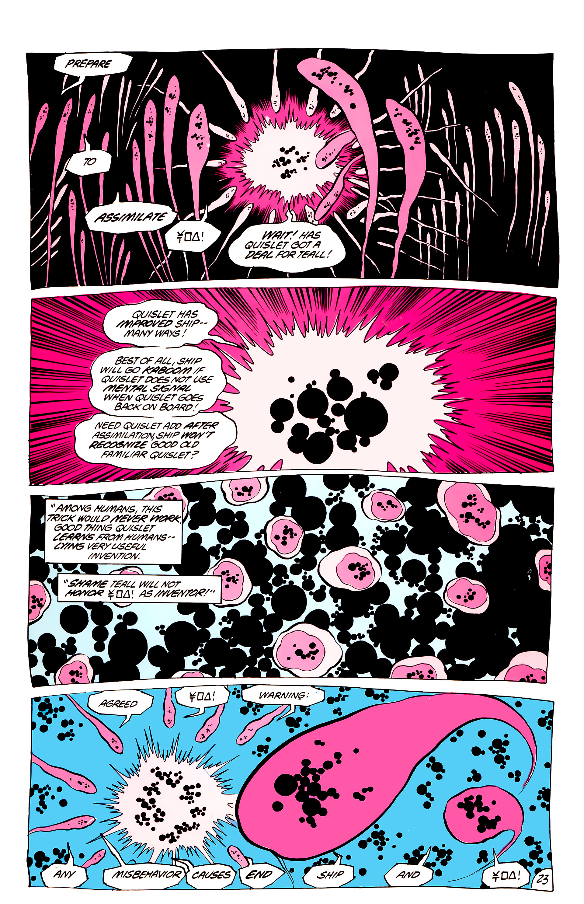 Legion of Super-Heroes (1984) 44 Page 23