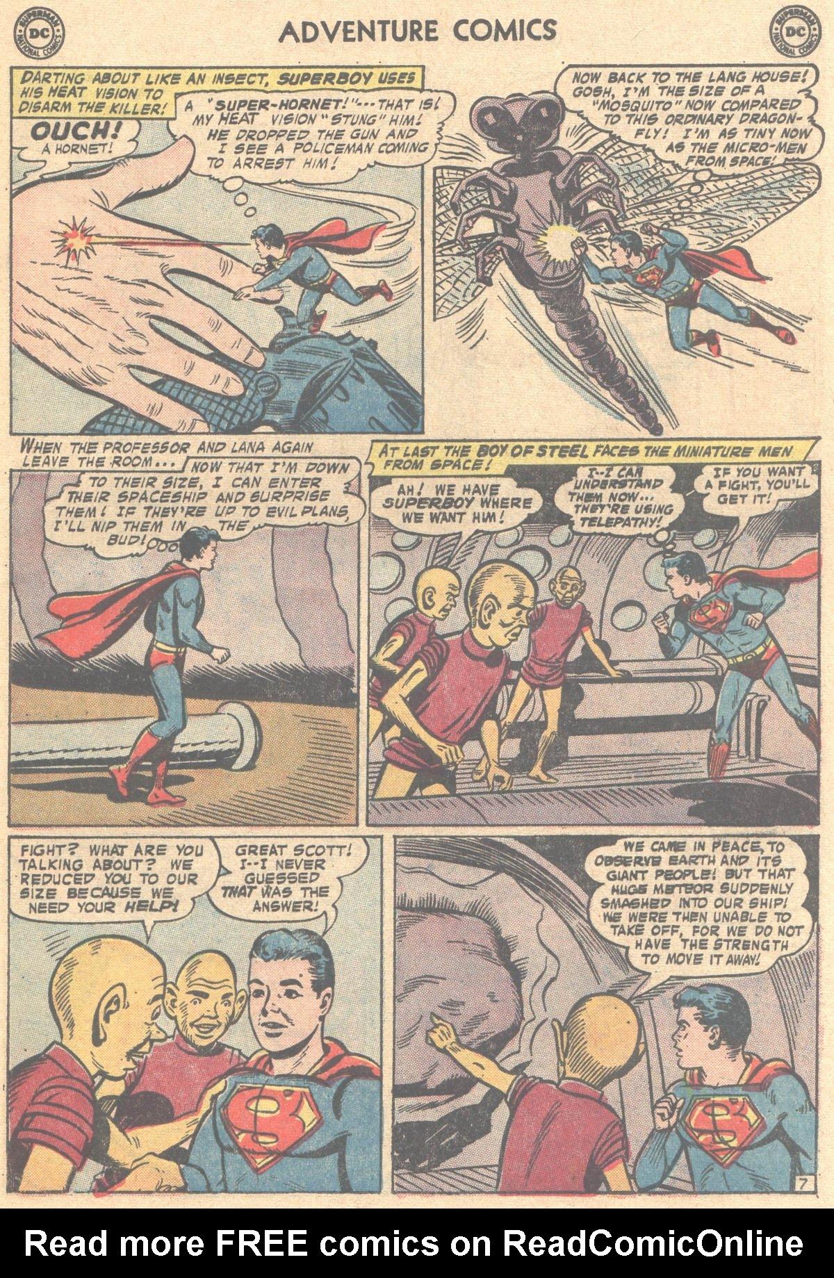 Read online Adventure Comics (1938) comic -  Issue #317 - 31