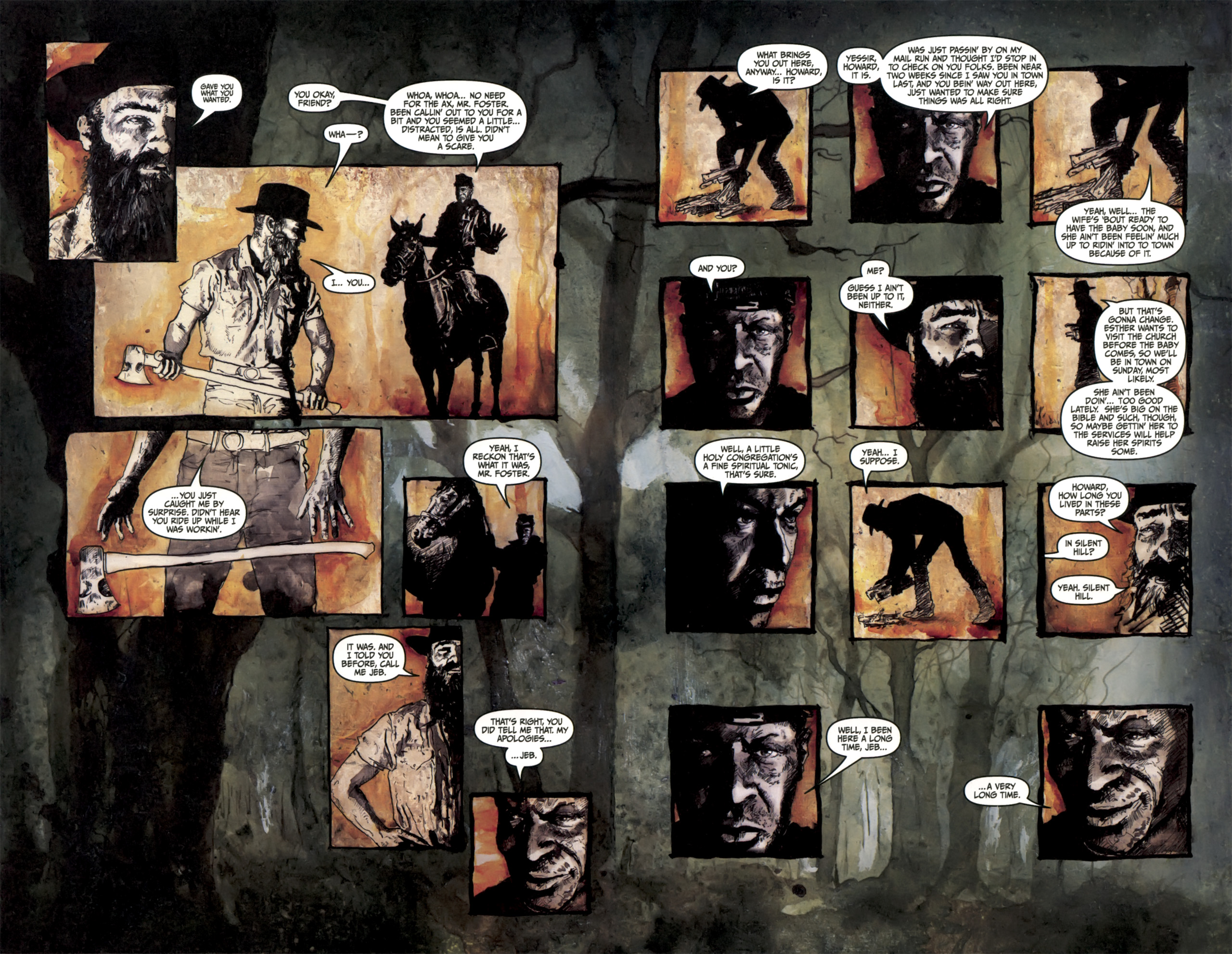 Read online Silent Hill: Past Life comic -  Issue #3 - 9