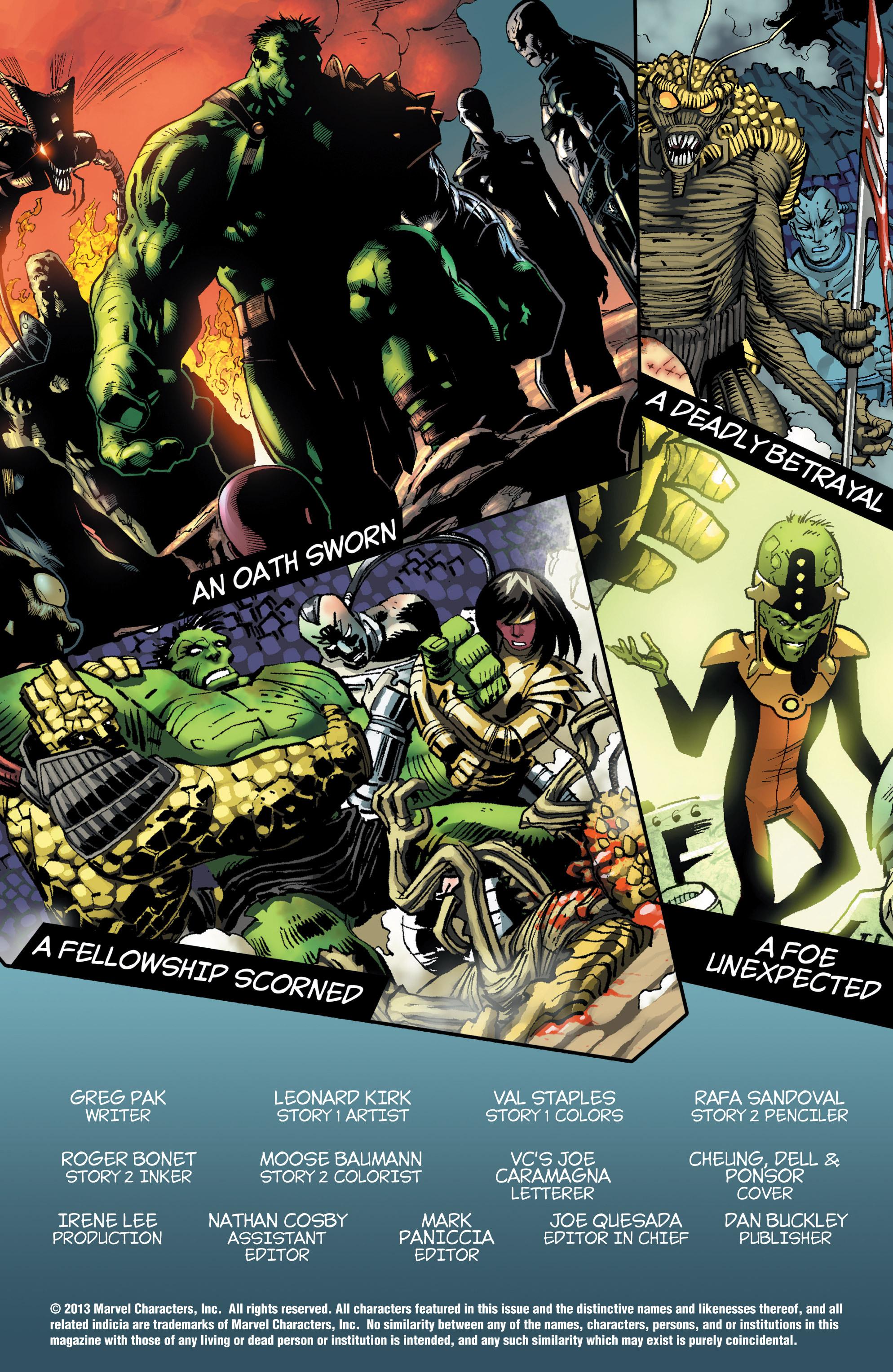 Read online World War Hulk Aftersmash: Warbound, Vol. 1 comic -  Issue #2 - 2
