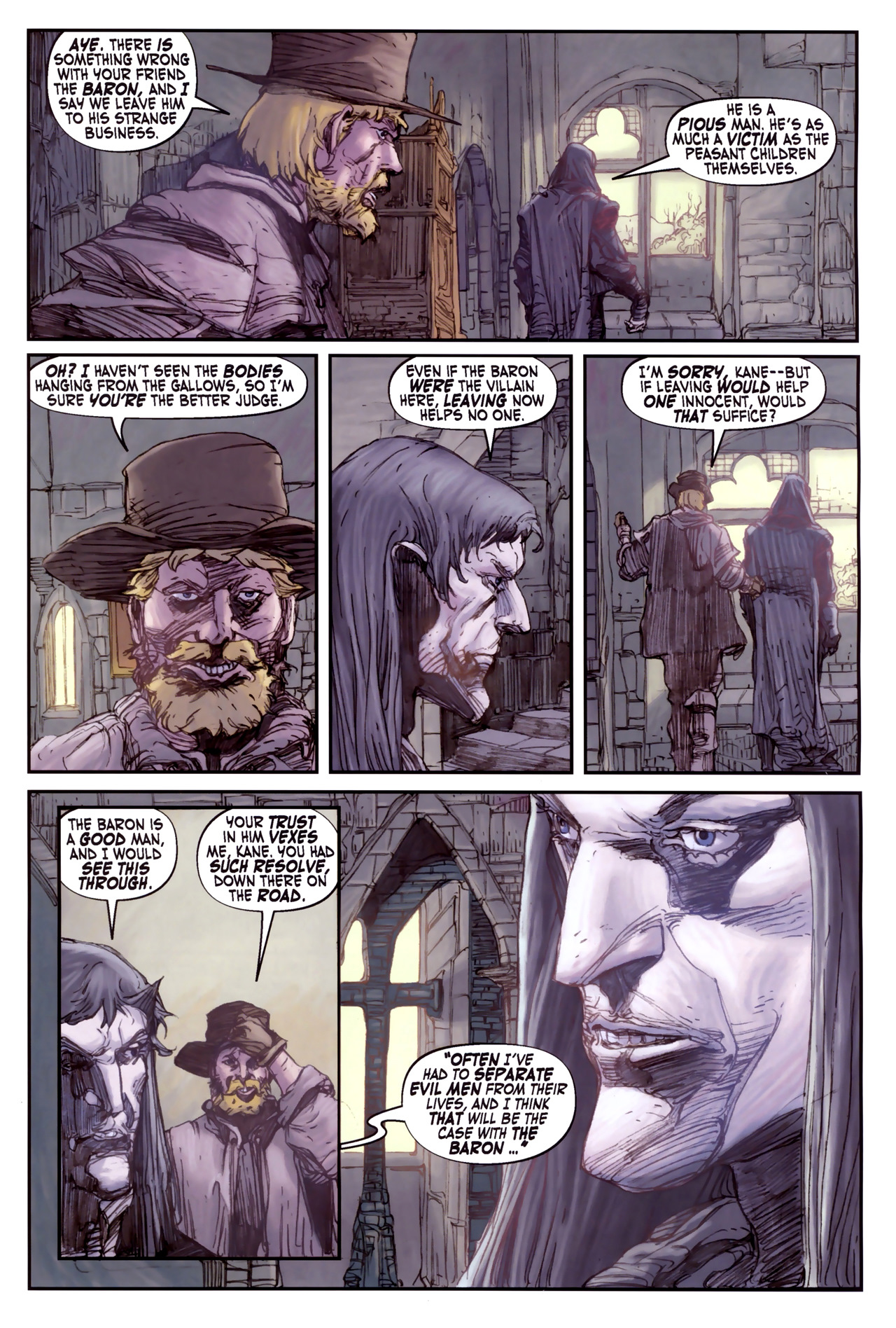 Read online Solomon Kane comic -  Issue #3 - 11
