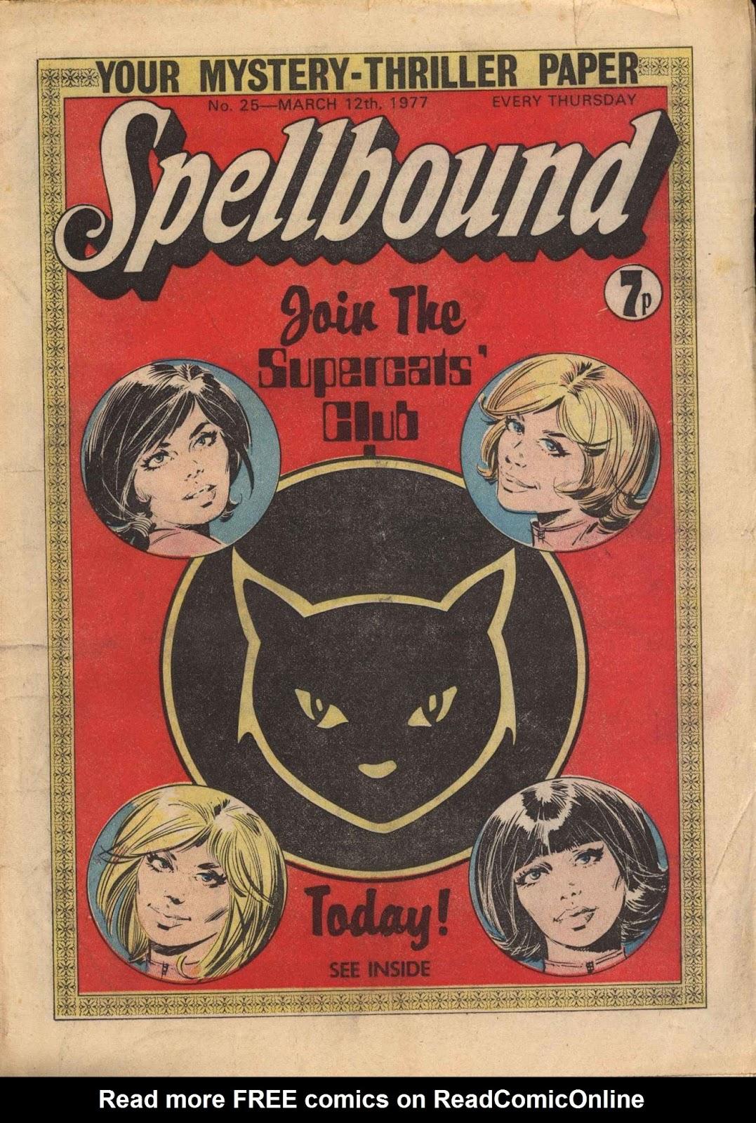 Spellbound (1976) issue 25 - Page 1