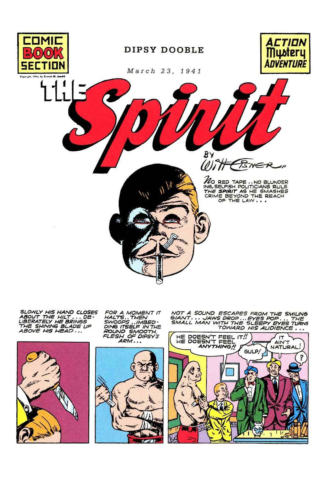 Read online Will Eisner's The Spirit Archives comic -  Issue # TPB 2 (Part 1) - 89